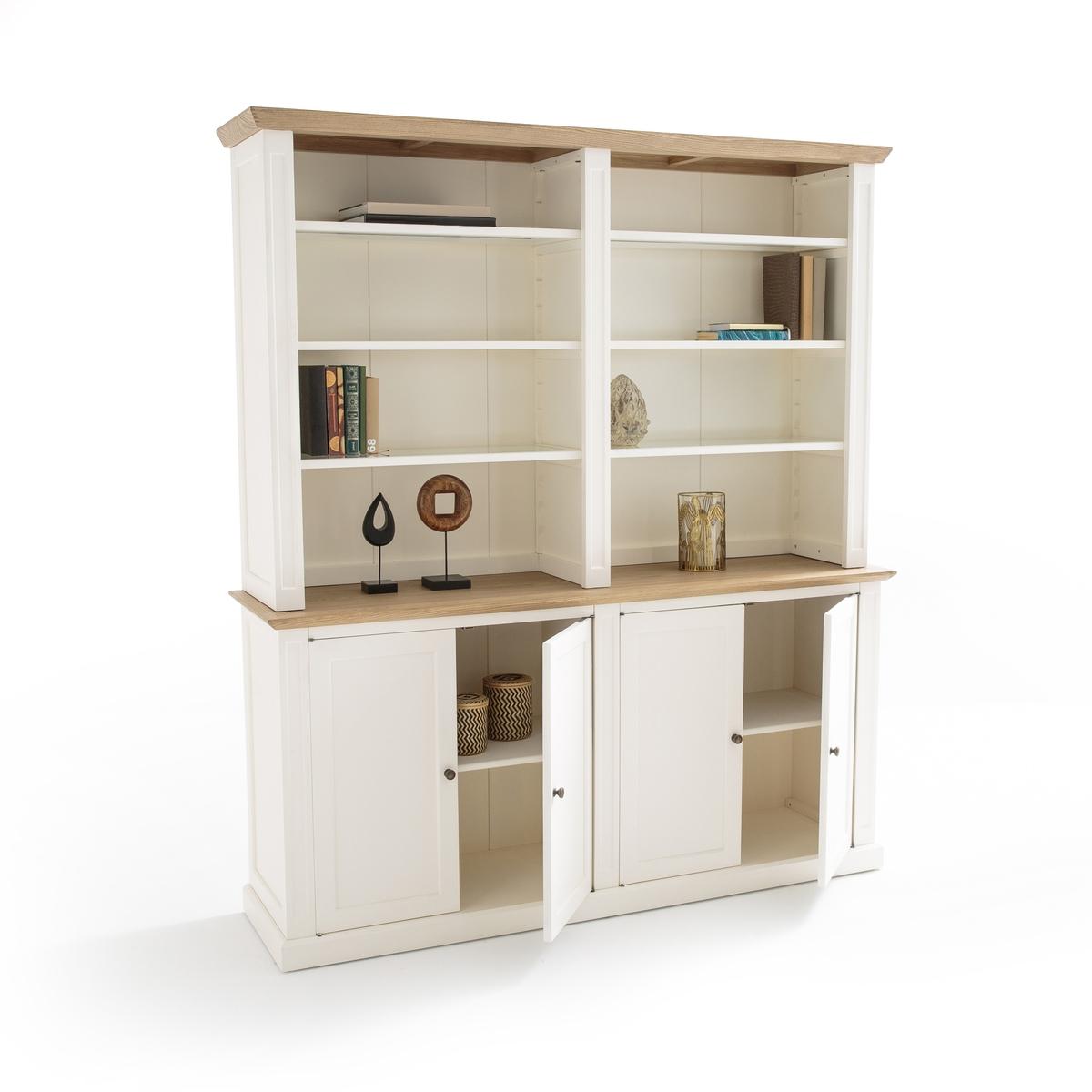 Книжный шкаф двойной ADELIA, высота 2м