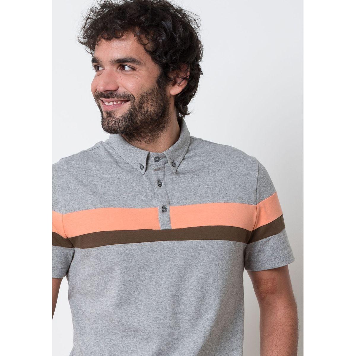 Polo coton manches courtes TOURNOI