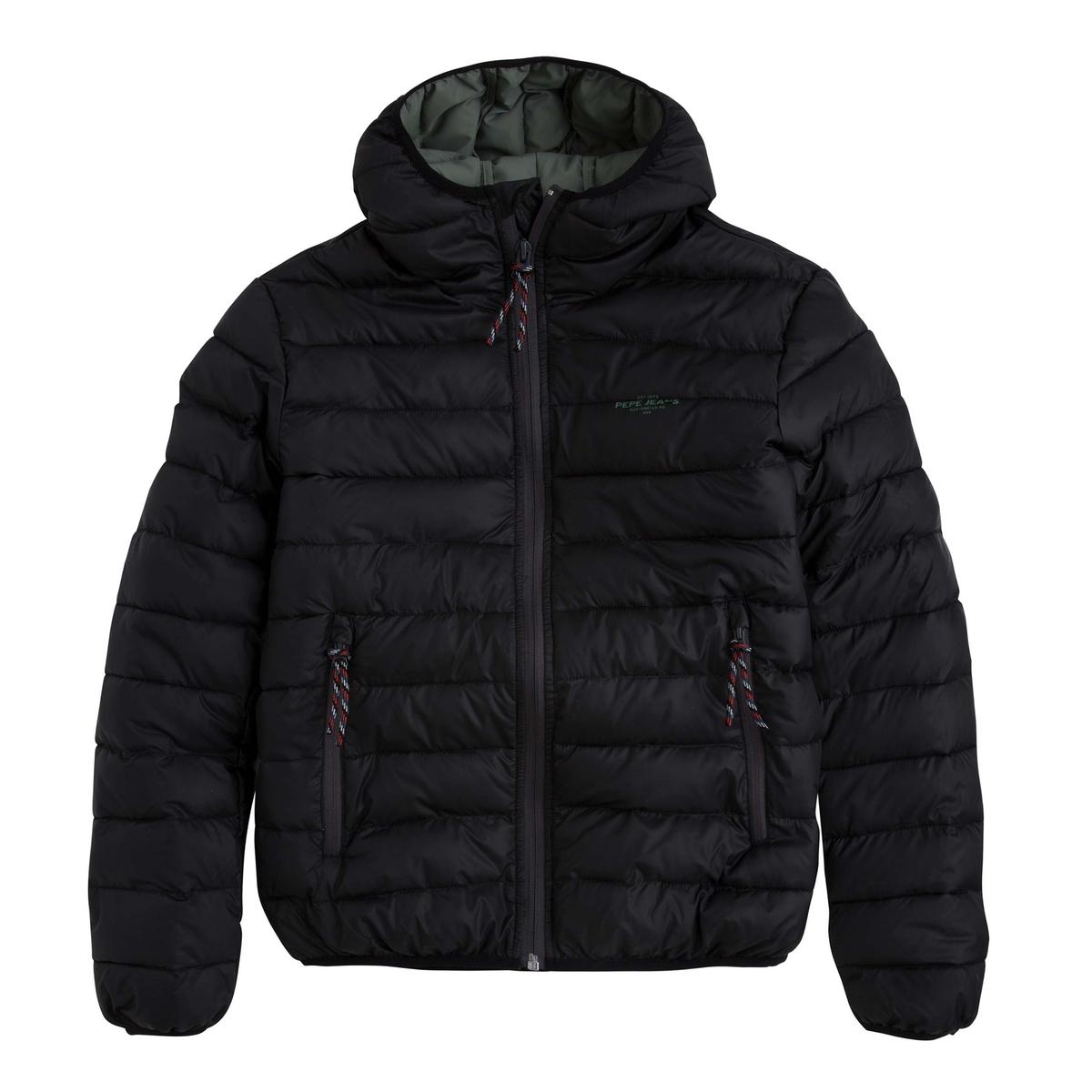 Куртка стеганая короткая с капюшоном WHITEHALL