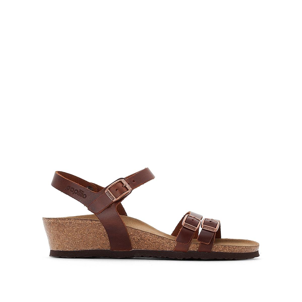 Босоножки кожаные на плоском каблуке Lana босоножки кожаные на плоском каблуке la conquise
