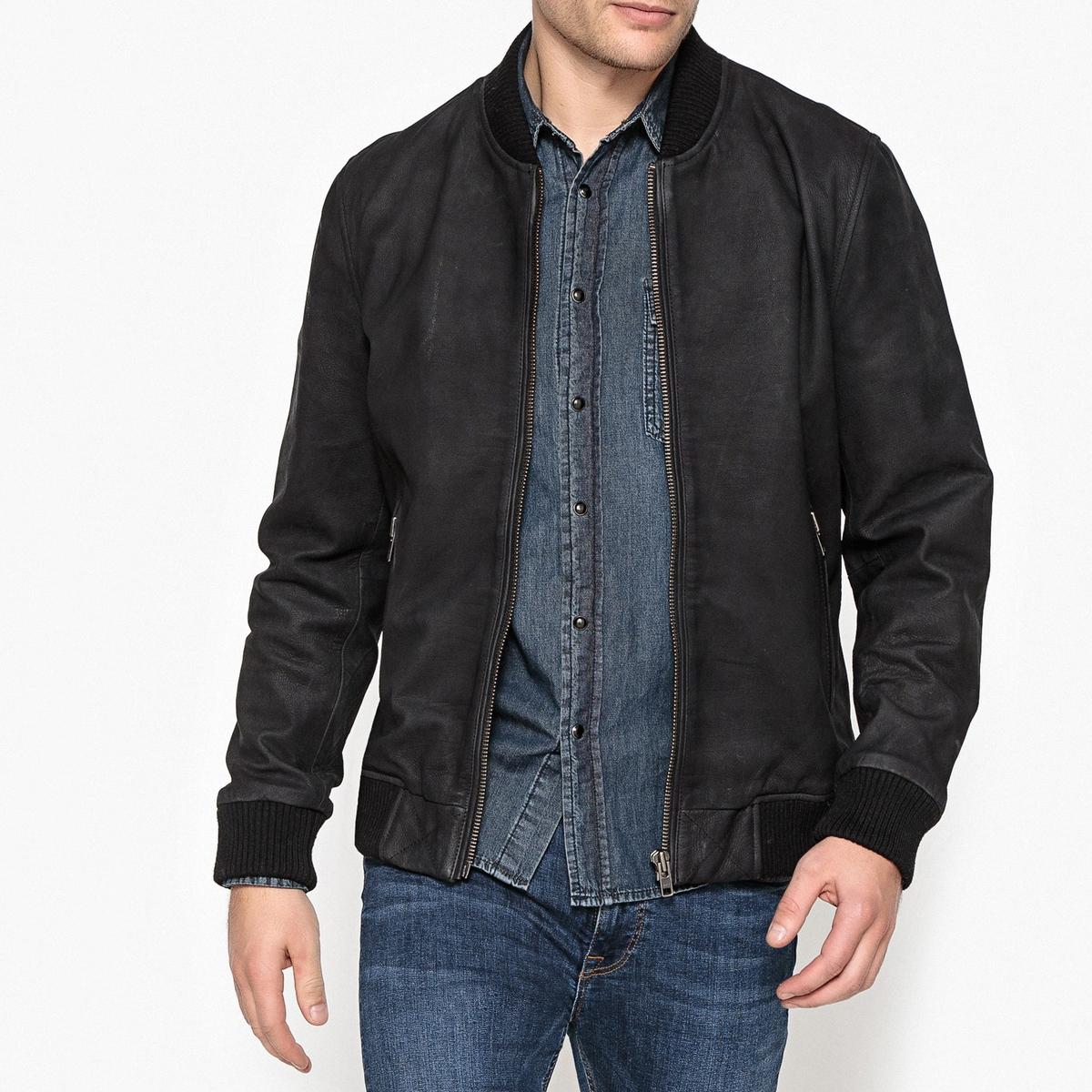 Блузон кожаный блузон кожаный