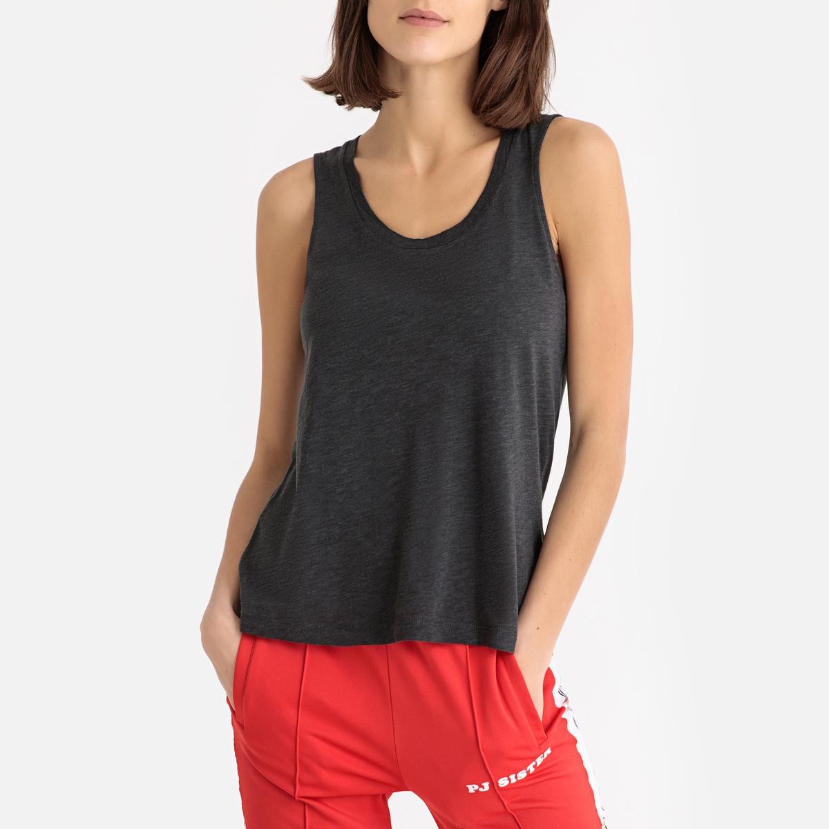 Imagen secundaria de producto de Camiseta sin mangas de algodón flameado JACKSONVILLE - American Vintage