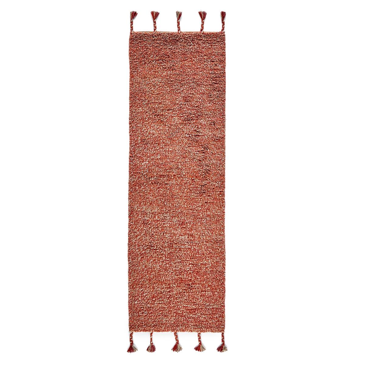 Ковер La Redoute Для коридора в берберском стиле Neroli 80 x 250 см бежевый ковер la redoute в берберском стиле из шерсти tekouma 120 x 180 см бежевый