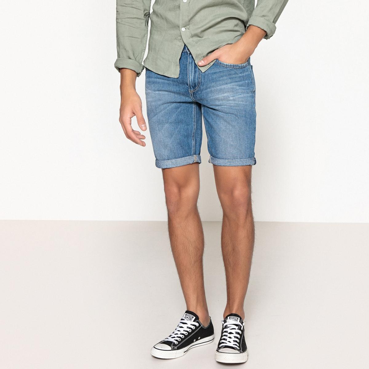 Бермуды из джинсовой ткани
