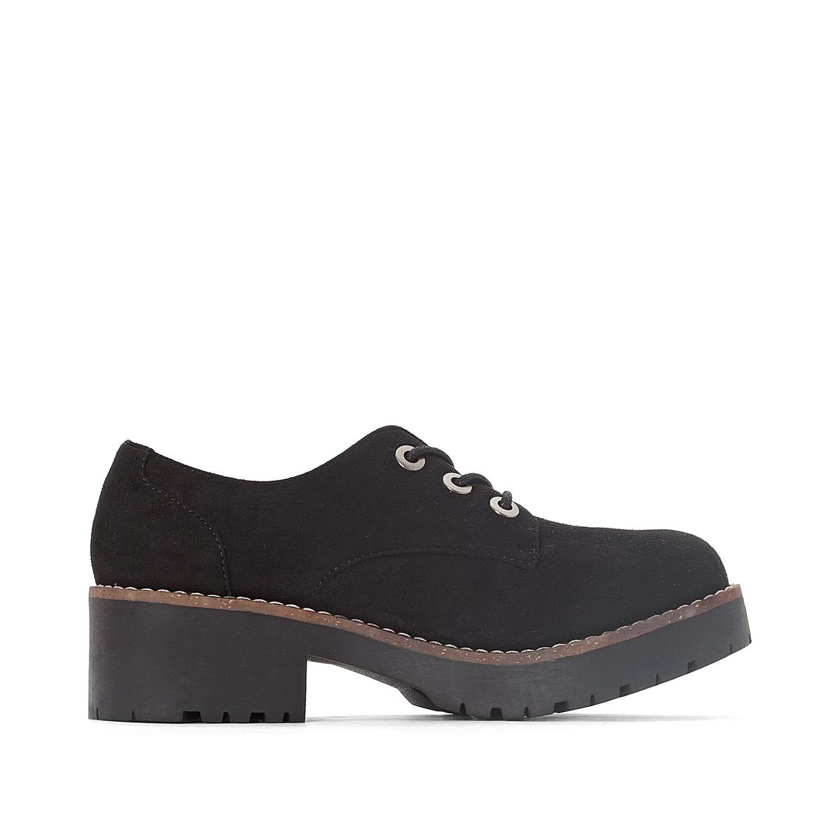 Ботинки-дерби на каблуке  Cherblu цены онлайн