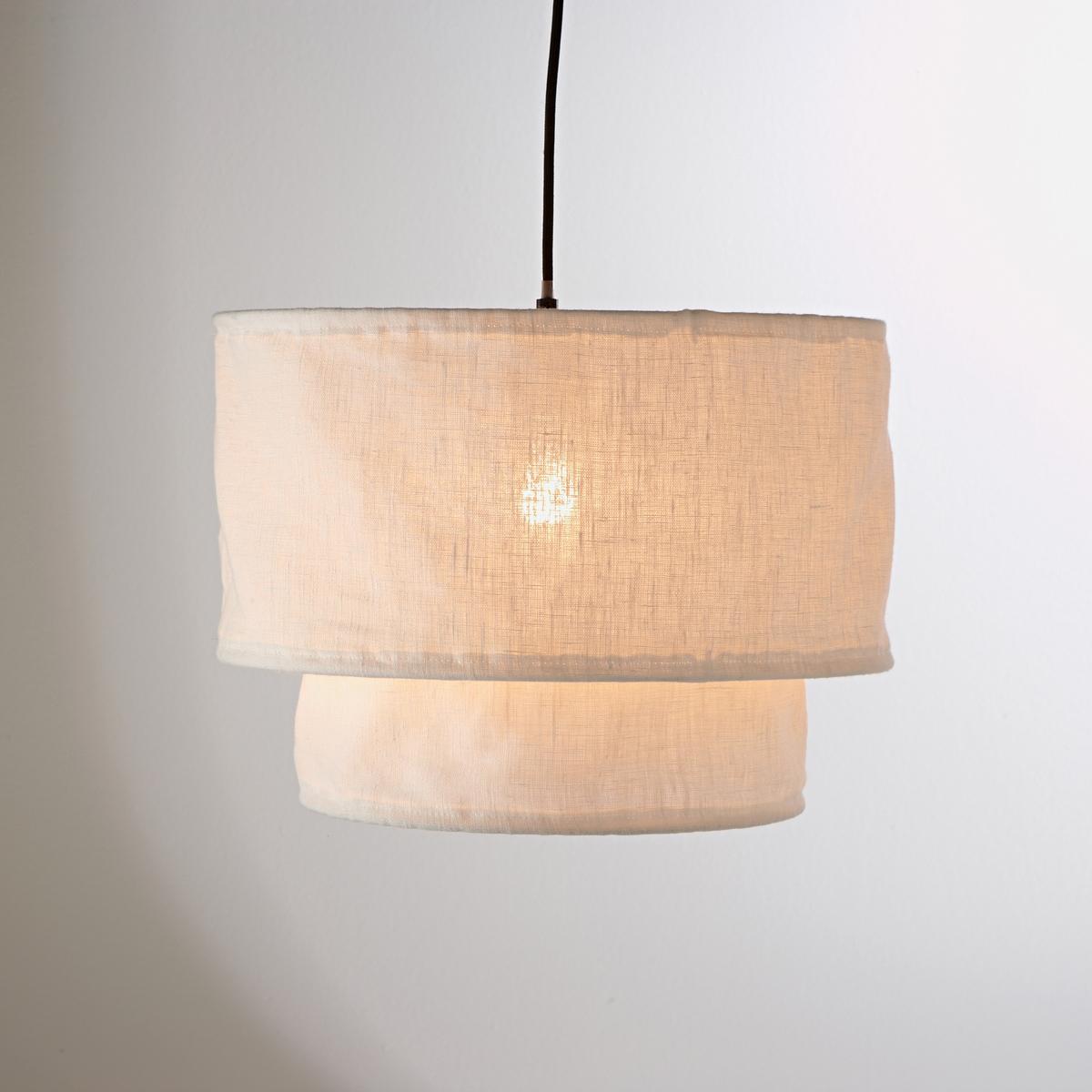 Двойной подвесной абажур, ThadeДвойной подвесной абажур Thade из льна на жесткой раме обеспечивает мягкий и рассеянный свет. Описание двойного подвесного абажура из льна Thade :НеэлектрифицированныйЦоколь E27 для лампы 60 Вт максимум (продается отдельно)Характеристики двойного подвесного абажура из льна Thade :Из льна на жесткой рамеРазмеры двойного подвесного абажура из льна Thade :Абажур высокий, диаметр 40 см, высота22 см Абажур низкий : диаметр 30 см, высота 12 см Всю коллекцию светильников вы можете найти на сайте laredoute.ru.<br><br>Цвет: белый,серый жемчужный,экрю