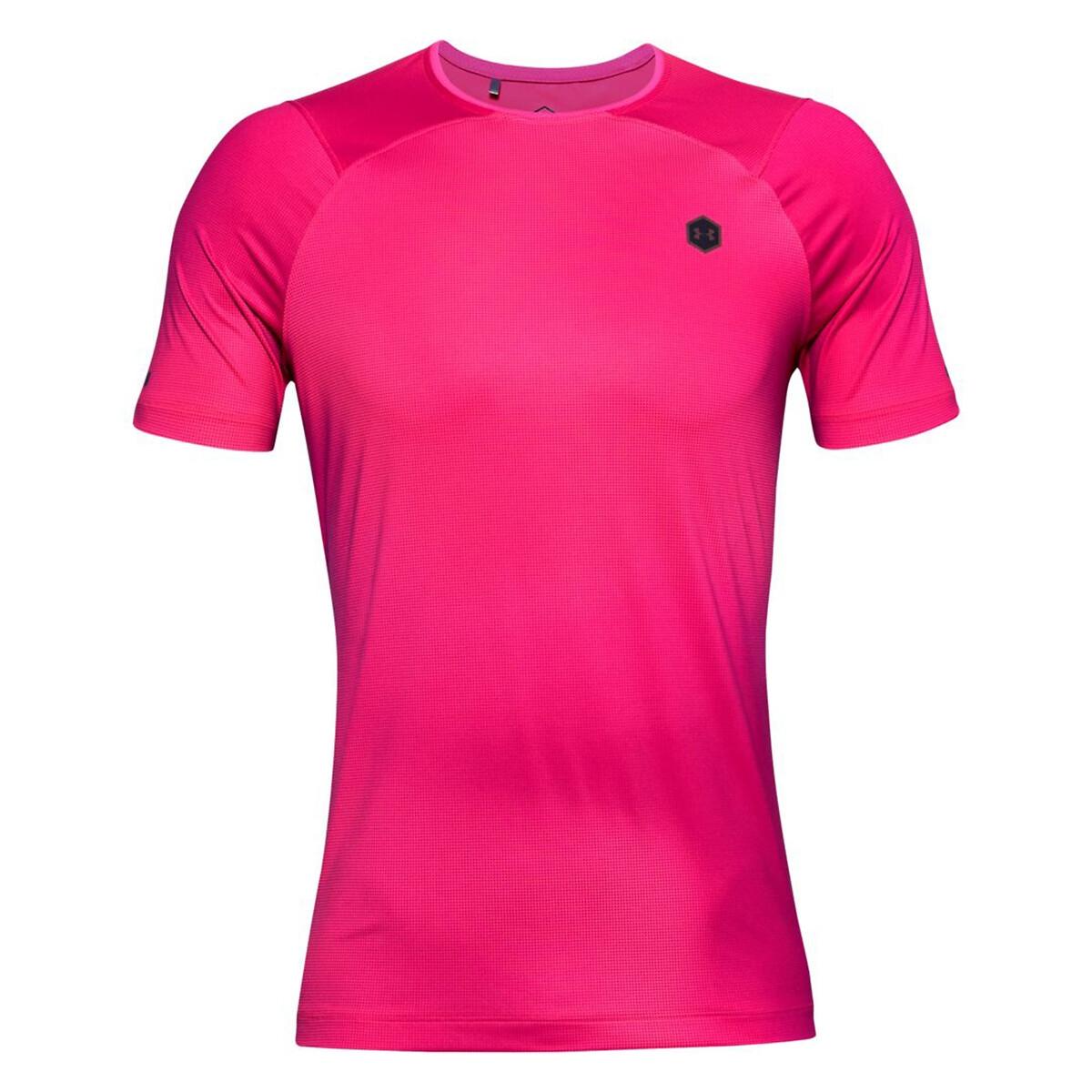 Футболка La Redoute Для тренировок Rush Fitted L розовый