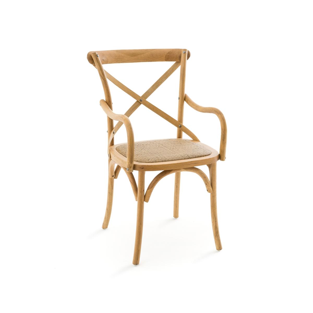 Кресло La Redoute Humphrey единый размер каштановый кружка la redoute из керамики sanna единый размер каштановый