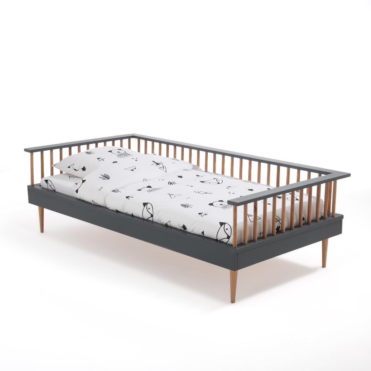 Диван-кровать La Redoute С кроватным основанием AFLI 90 x 190 см серый
