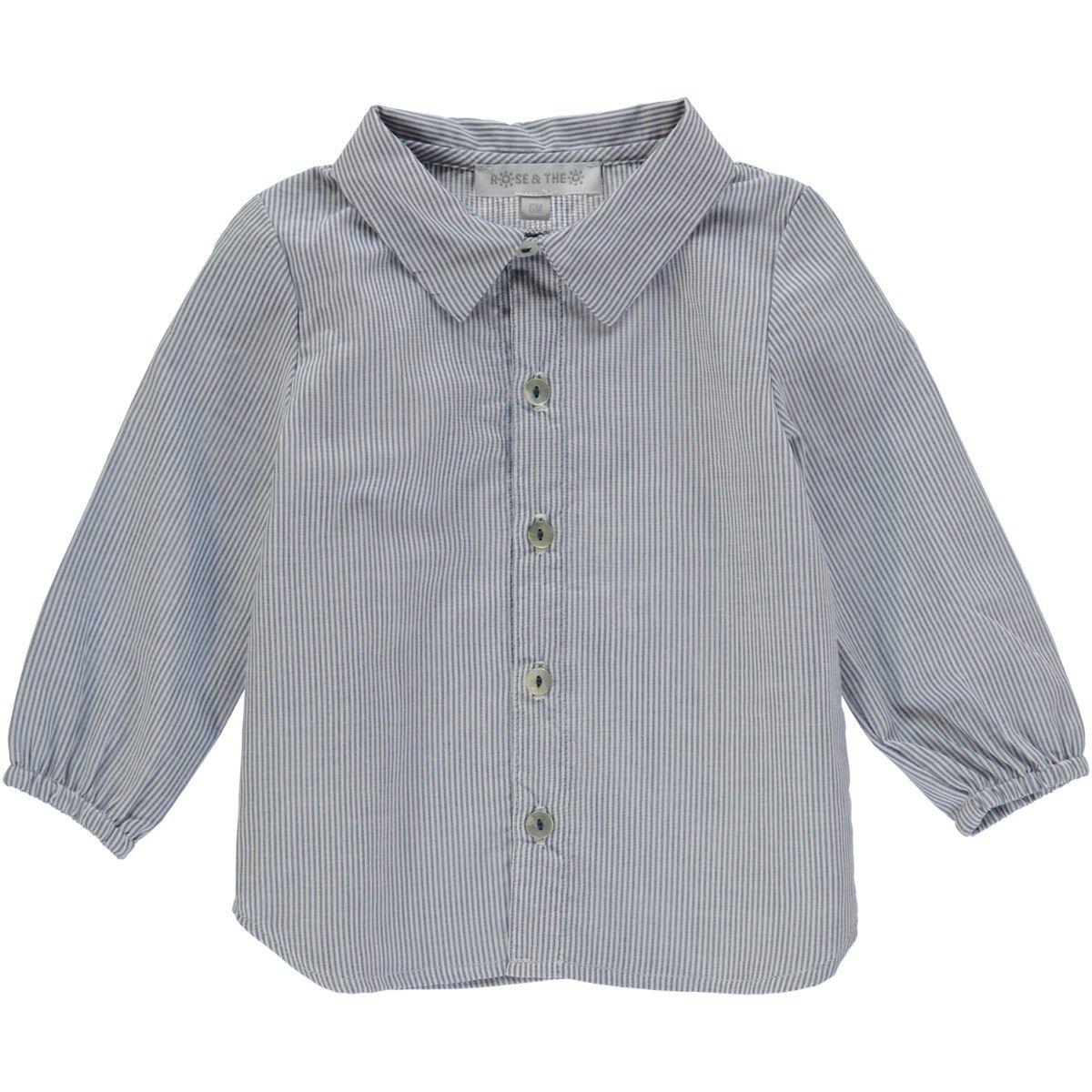 Chemise en coton à rayures VALENTIN