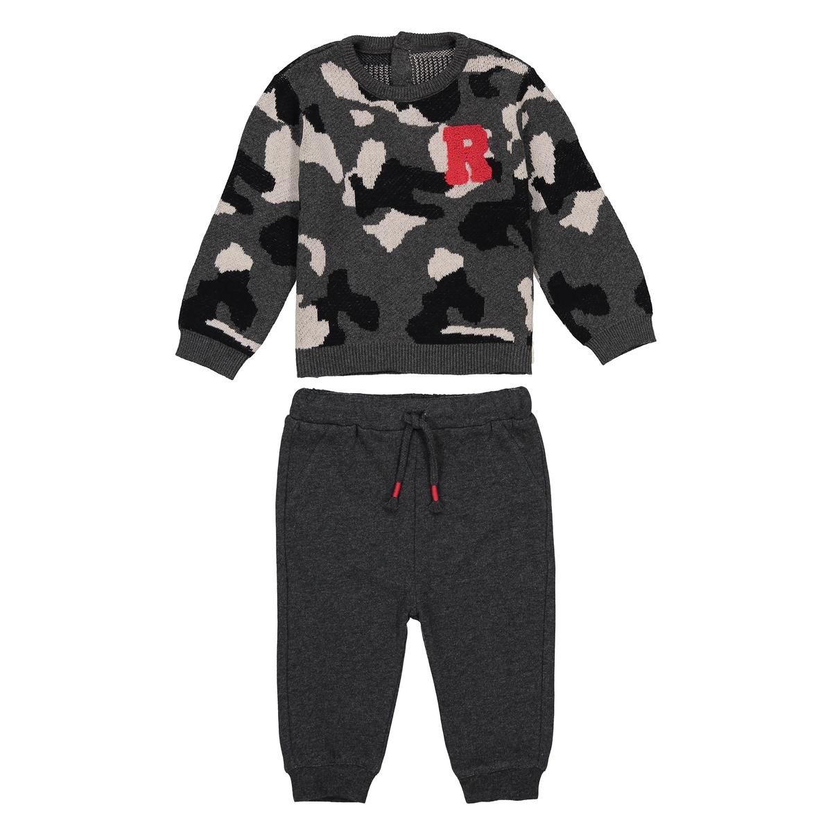 Комплект из свитшота и спортивных брюк, 1 мес. - 3 года комплект для младенца футболка комбинезон 1 мес 3 года