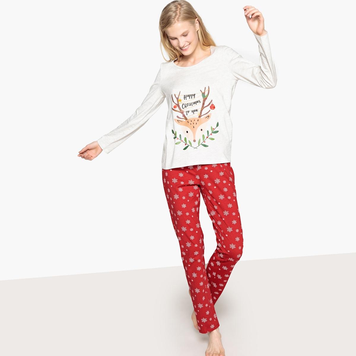 Pijama estampado Navidad
