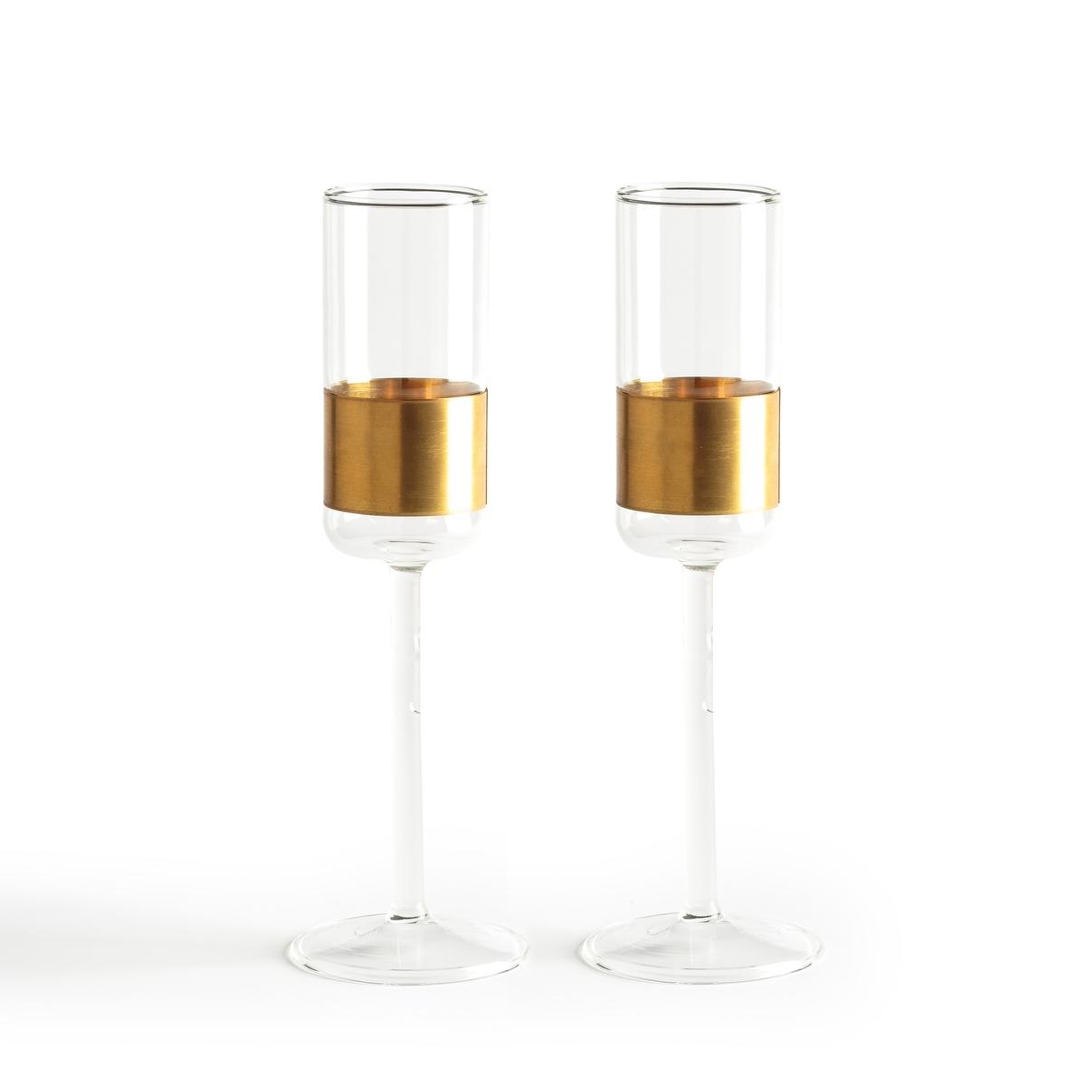 2 бокала под шампанское Cuivre Serax