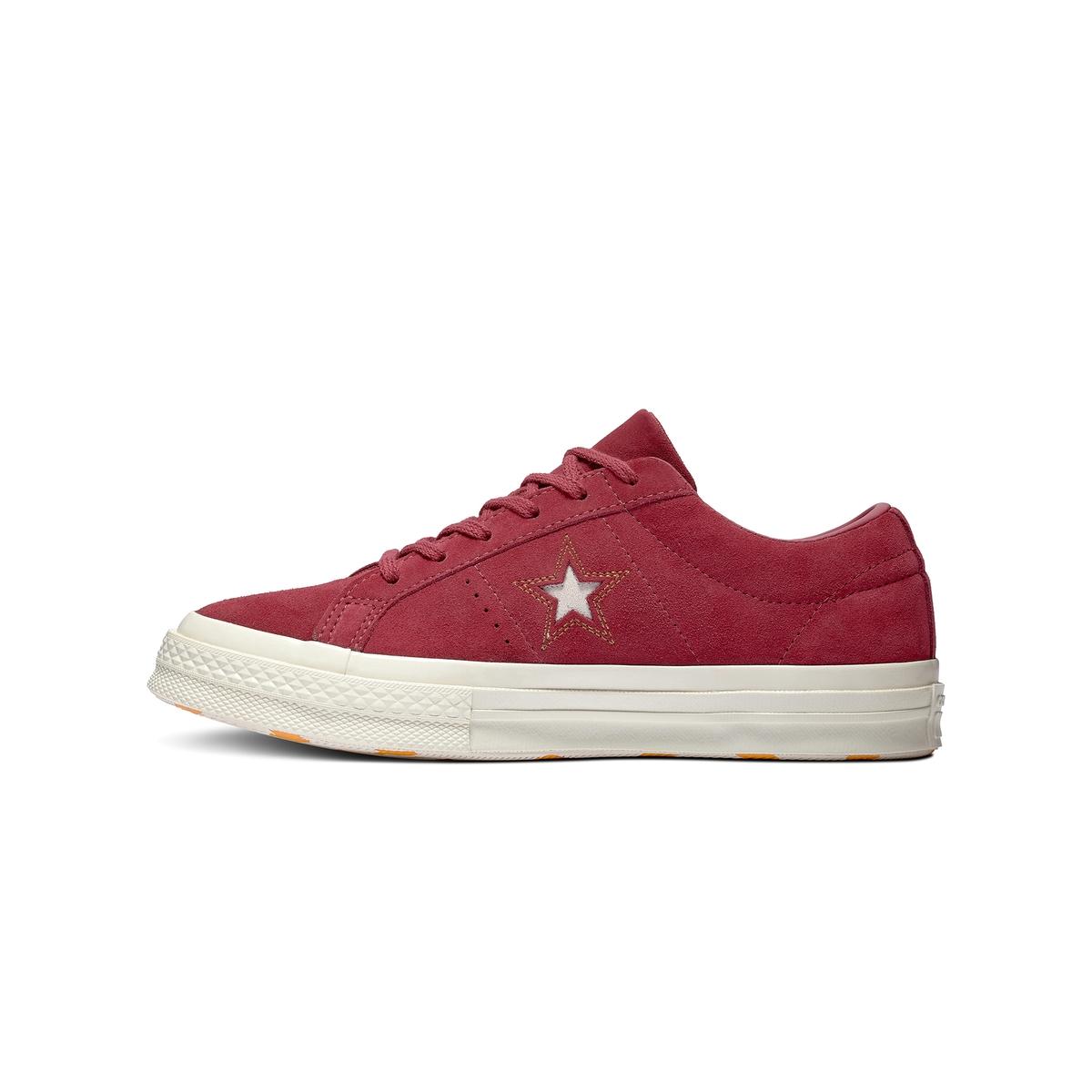 Imagen secundaria de producto de Zapatillas bajas de piel aterciopelada One Star - Converse
