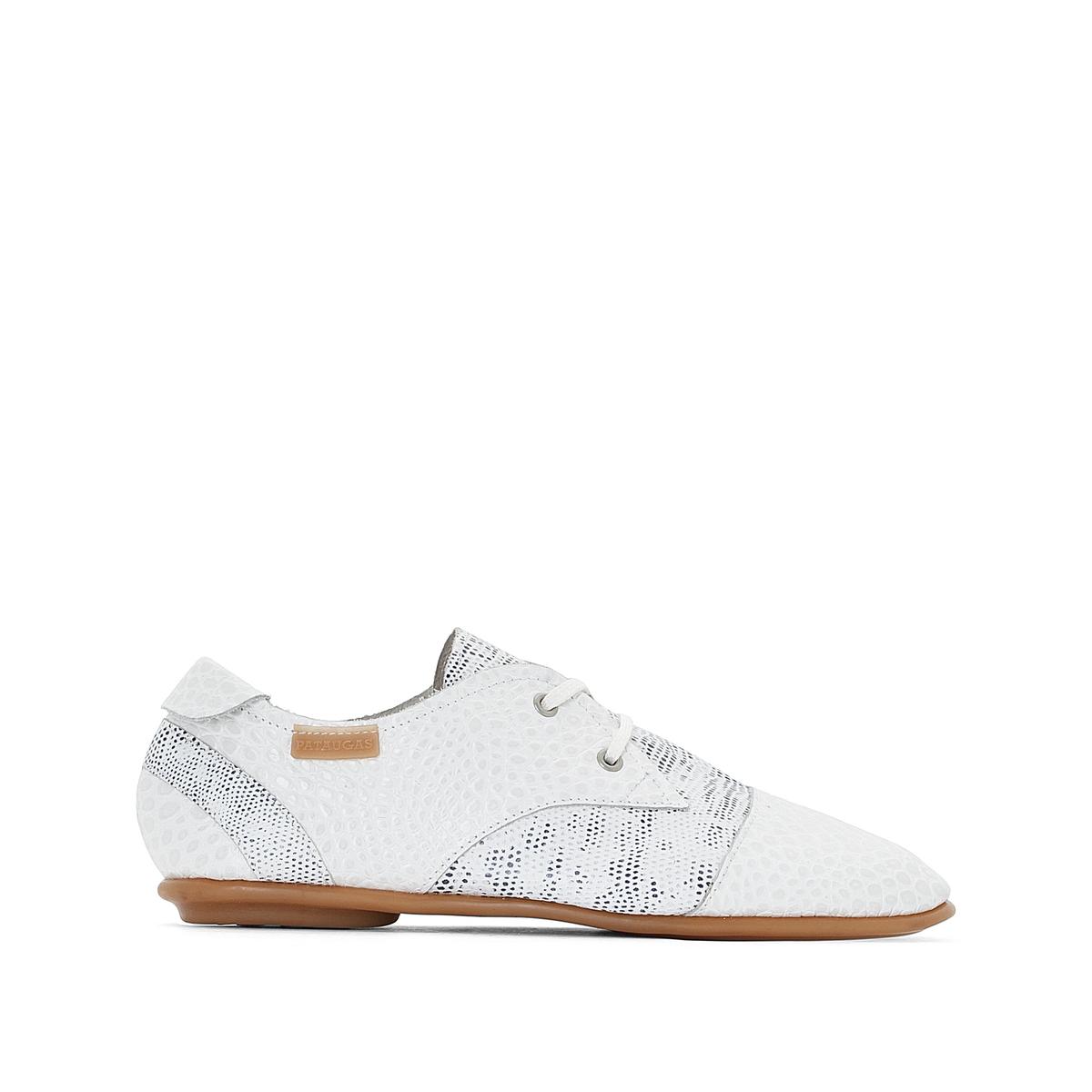 Ботинки-дерби на шнуровке из кожи, Swing ботинки дерби из мягкой кожи takarika