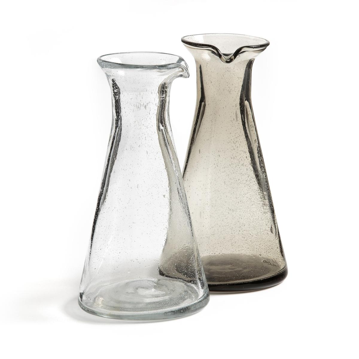 Графин для воды с пузырьковым эффектом FARAJIГрафин для воды Faraji с воздушными пузырьками для оригинального стиля.Характеристики графина для воды Faraji :Оригинальное стекло с воздушными пузырьками.- Диаметр   : 12,5 смВысота : 24,5 см    Подходит для мытья в посудомоечной машине.Нашу коллекцию Faraji и другие столовые приборы вы можете найти на сайте laredoute .ru<br><br>Цвет: антрацит,белый<br>Размер: единый размер