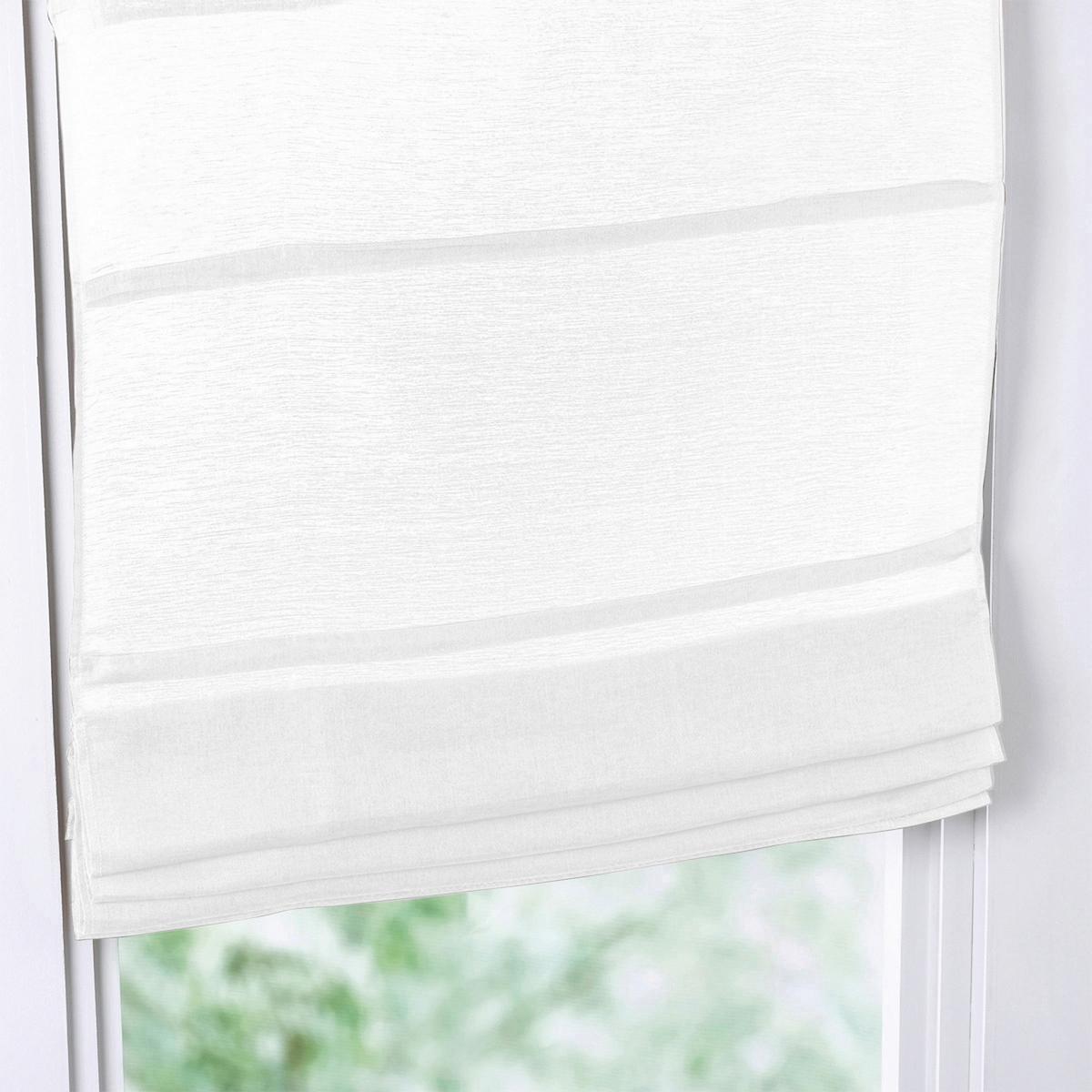 Штора римская из кисеи (лен/хлопок)Римская штора из смесовой ткани кисеи, качество Qualit? Best, великолепный натуральный материал с красивыми складками. Полупрозрачная вентилируемая ткань, сквозь которую будет красиво просачиваться свет из окна.Характеристики римской шторы :- Смесовая ткань кисея, великолепный натуральный материал с красивыми складками.   - 60% льна, 40% хлопка, отмеченного знаком  - : rgb(0, 0, 0) font-family: Arial font-size: 13px font-variant-ligatures: normal font-variant-caps: normal font-weight: normal letter-spacing: normal orphans: 2 text-align: start text-indent: 0px text-transform: none white-space: normal widows: 2 word-spacing: 0px -webkit-text-stroke-width: 0px background-color: rgb(255, 255, 255) text-decoration-style: initial text-decoration-color: initial&gt;®. - Tissage a?r?, translucide, pour une jolie lumi?re tamis?e.- Прямой низ.. - Съемные рейки. - Веревочный механизм.- Легкий уход : машинная стирка при 40°, материал почти не мнется, легко гладить.- Отличная стойкость цветов к воздействию света .- Продается с креплениями.                         Производство осуществляется с учетом стандартов по защите окружающей среды и здоровья человека, что подтверждено сертификатом Oeko-tex®.<br><br>Цвет: бежевый,белый,серый жемчужный