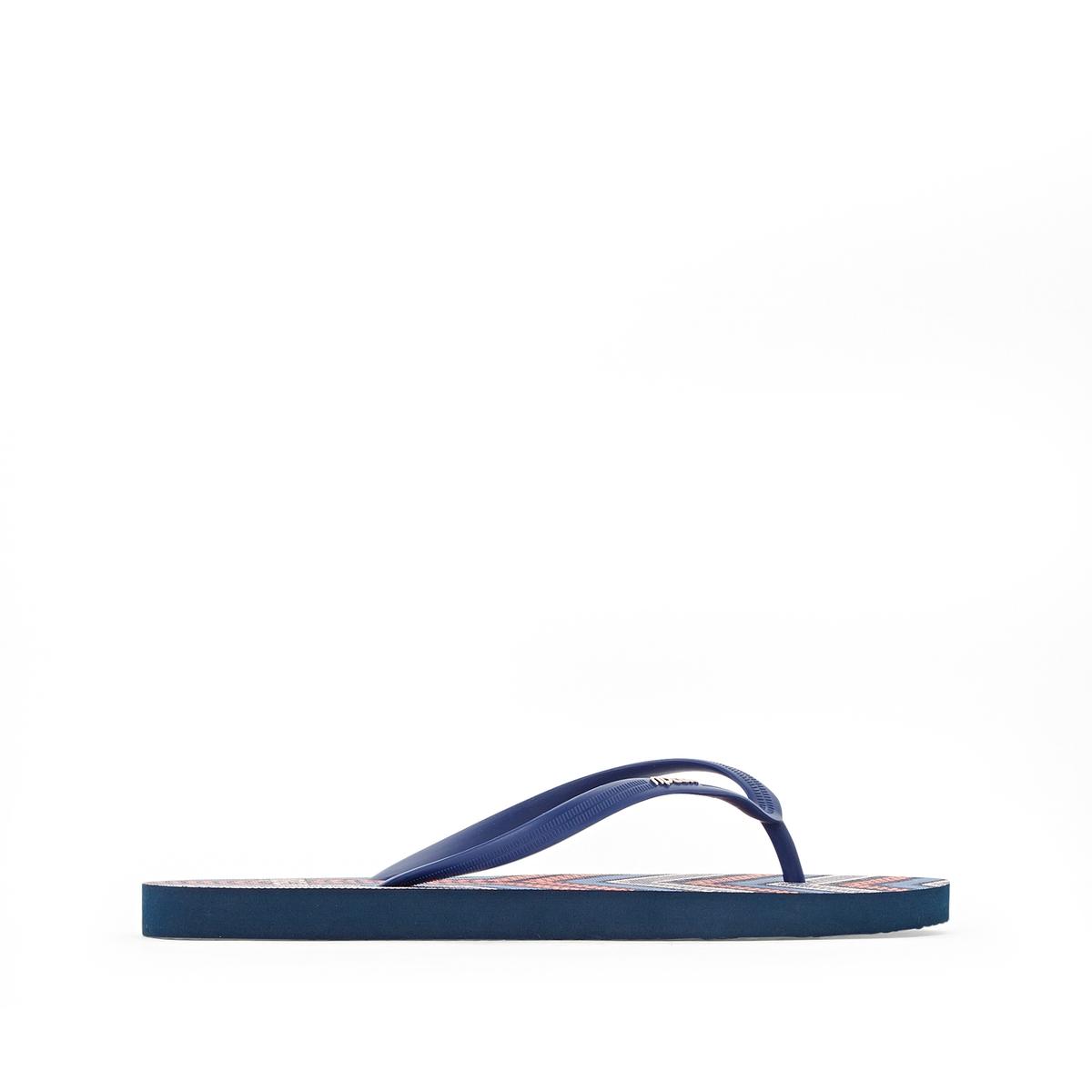 Вьетнамки EclpseВерх/Голенище : каучук       Стелька : синтетика     Подошва : каучук       Форма каблука : плоский каблук     Мысок : открытый мысок     Застежка : без застежки<br><br>Цвет: разноцветный<br>Размер: 40