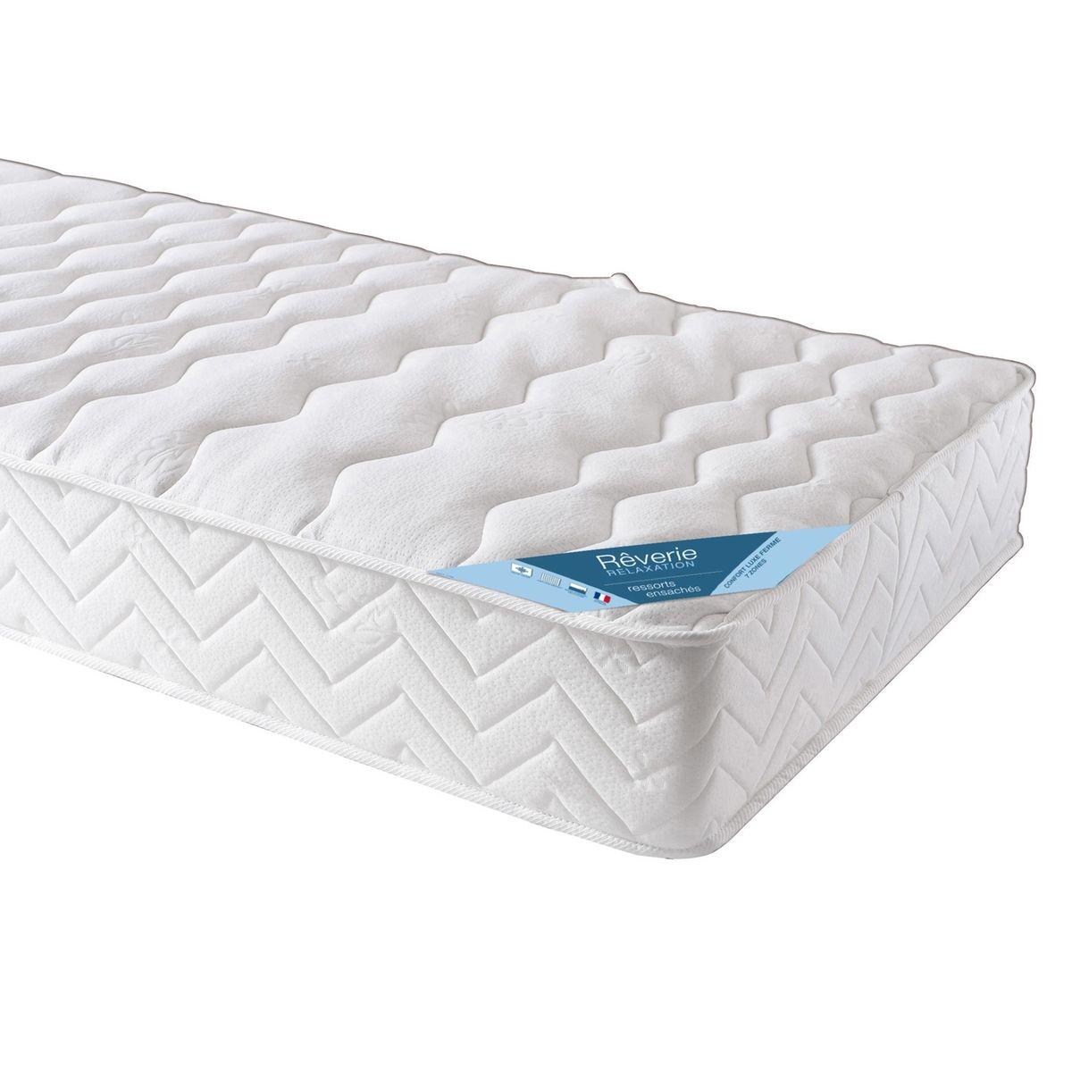 matelas ressorts ensach s 7 zones confort luxe vendu par la redoute 3758311. Black Bedroom Furniture Sets. Home Design Ideas