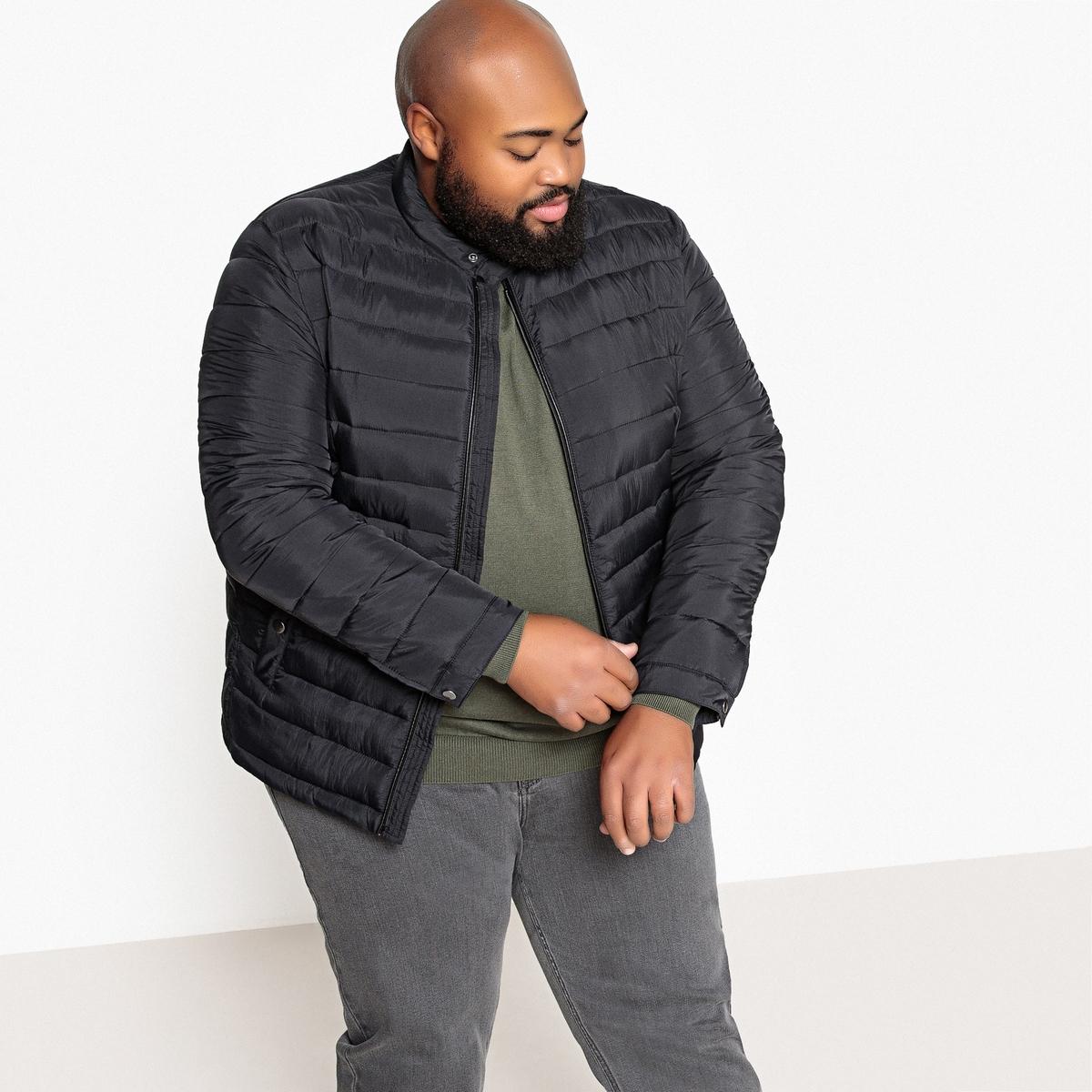 Куртка укороченная большого размера, демисезонная модель
