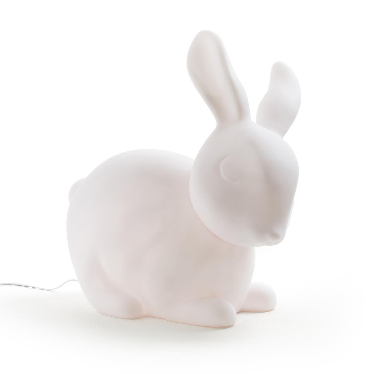 Лампа светодиодная, LunicoleЛампа Lunicole. Лампа формата XL в форме милого и пушистого зайчика… Симпатичная лампа, как в включенном, так и в выключенном состоянии, она дает мягкий и рассеянный свет и будет идеальна для вашего ребенка  .Характеристики : - Материал: ПВХ- Лампочка LED 0,85Вт (незаменяемая)- Выключатель вкл/выкл - Продается с преобразователем очень низкого напряжения .Размеры : - 39 x 38 x 18 см .<br><br>Цвет: белый<br>Размер: единый размер