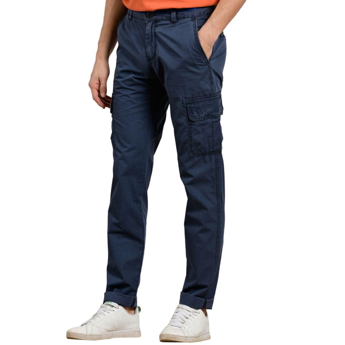 Pantalon cargo en coton bio PARGIS