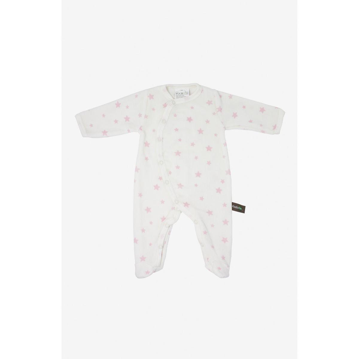 Pyjama bébé en coton bio imprimé étoiles