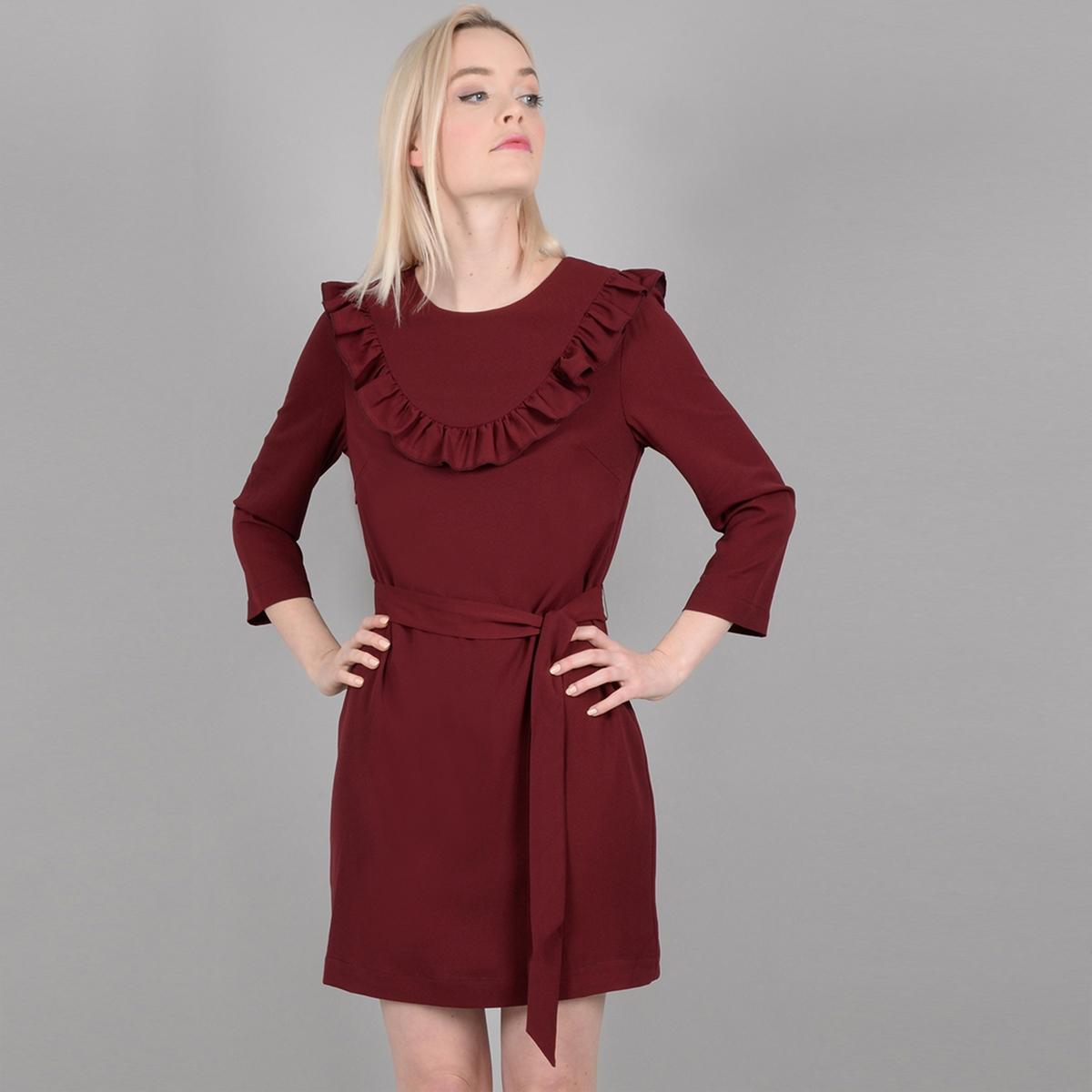 Платье расклешенное короткое с рукавами 3/4 платье короткое с рукавами 3 4