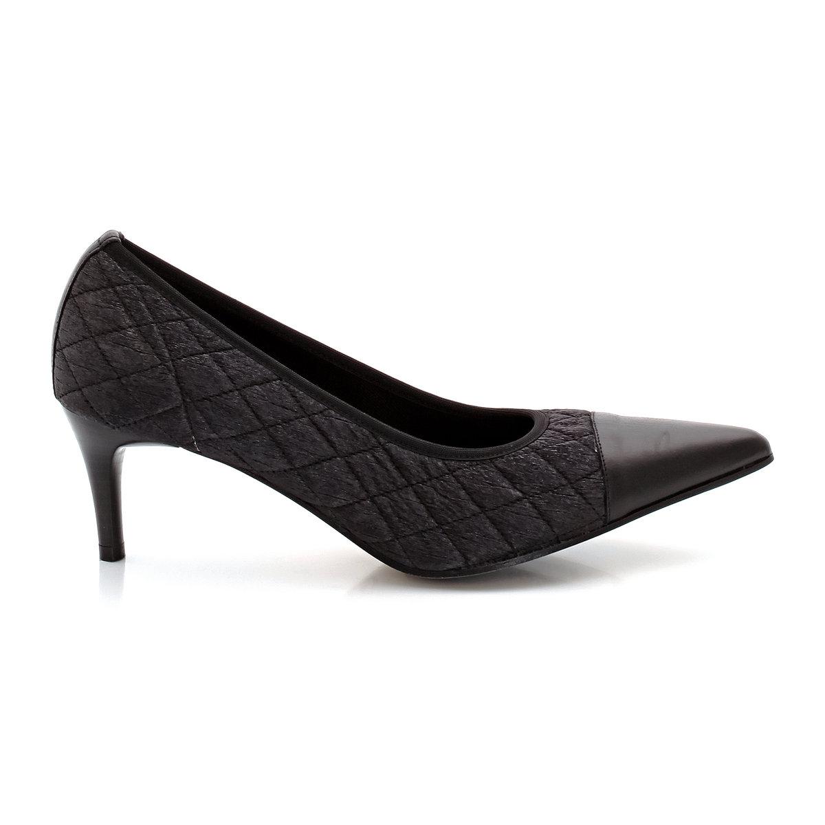Туфли из кожи RAYAN от ELIZABETH STUARTТуфли, модель RAYAN от ELIZABETH STUARTВерх  : яловичная кожа.Подкладка  : текстиль. Подошва  : кожа. Высота каблука: 6,4 см.<br><br>Цвет: черный<br>Размер: 39.40