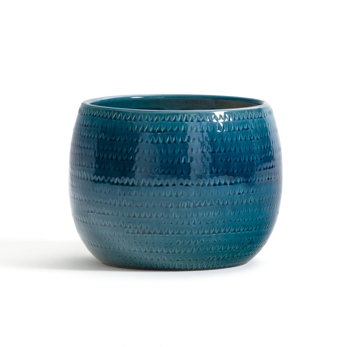 Кашпо из керамики Ø30 x H23 см, Joanis зеркало barbier круглое ø30 см