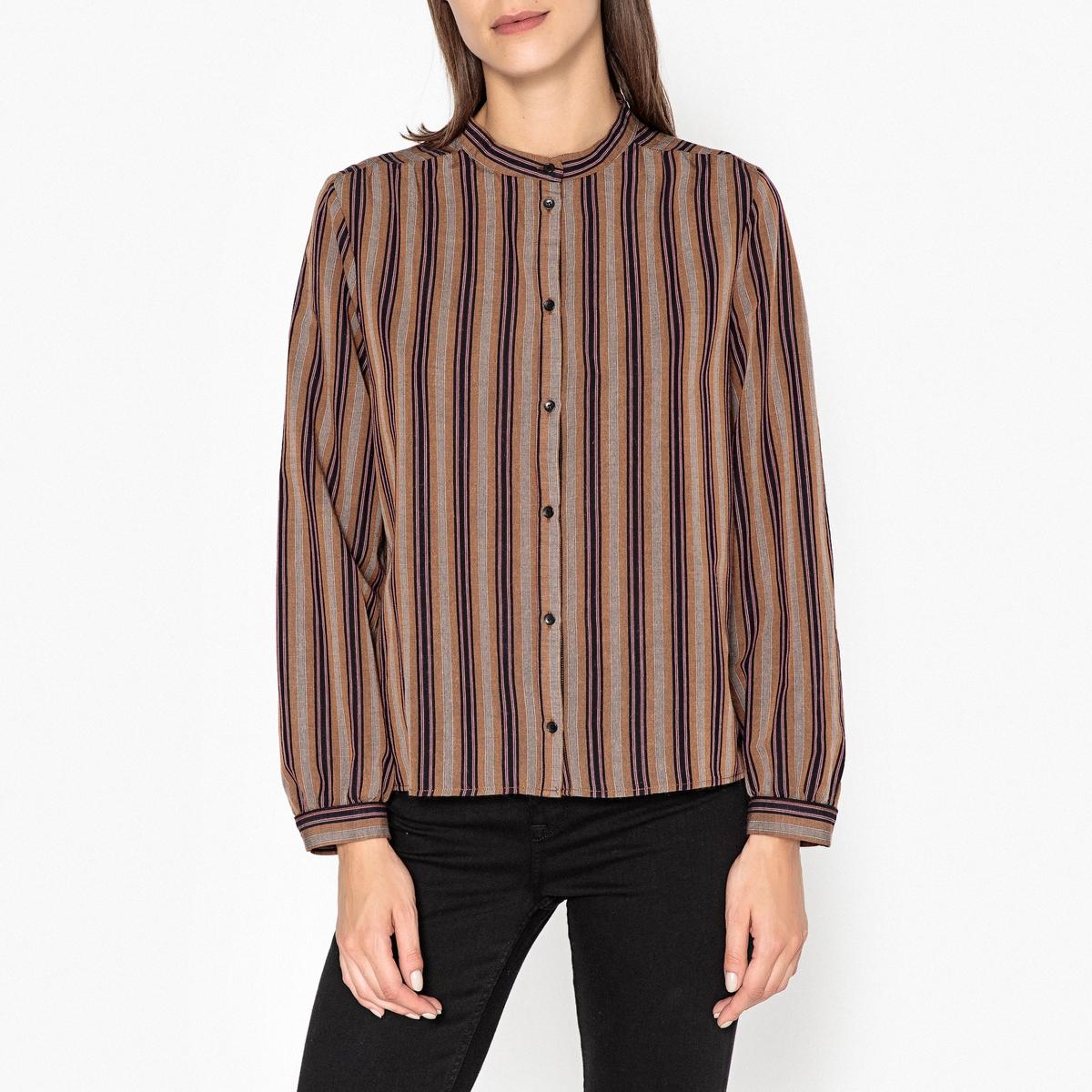Рубашка в полоску EMMA dress emma monti платья и сарафаны приталенные