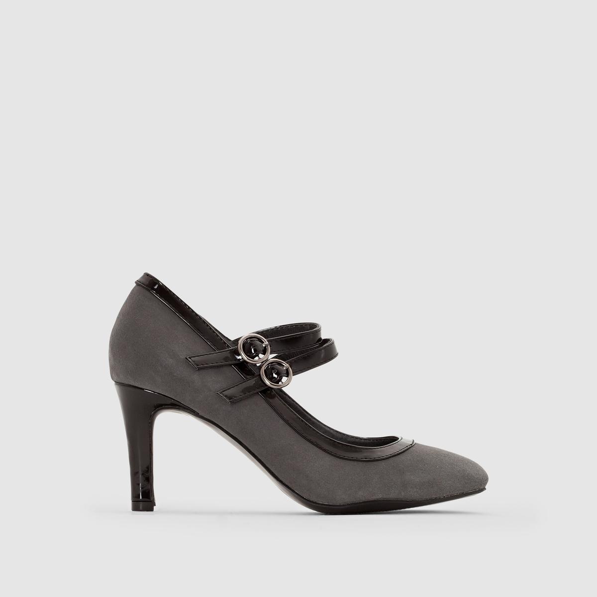 Туфли из невыделанной кожи