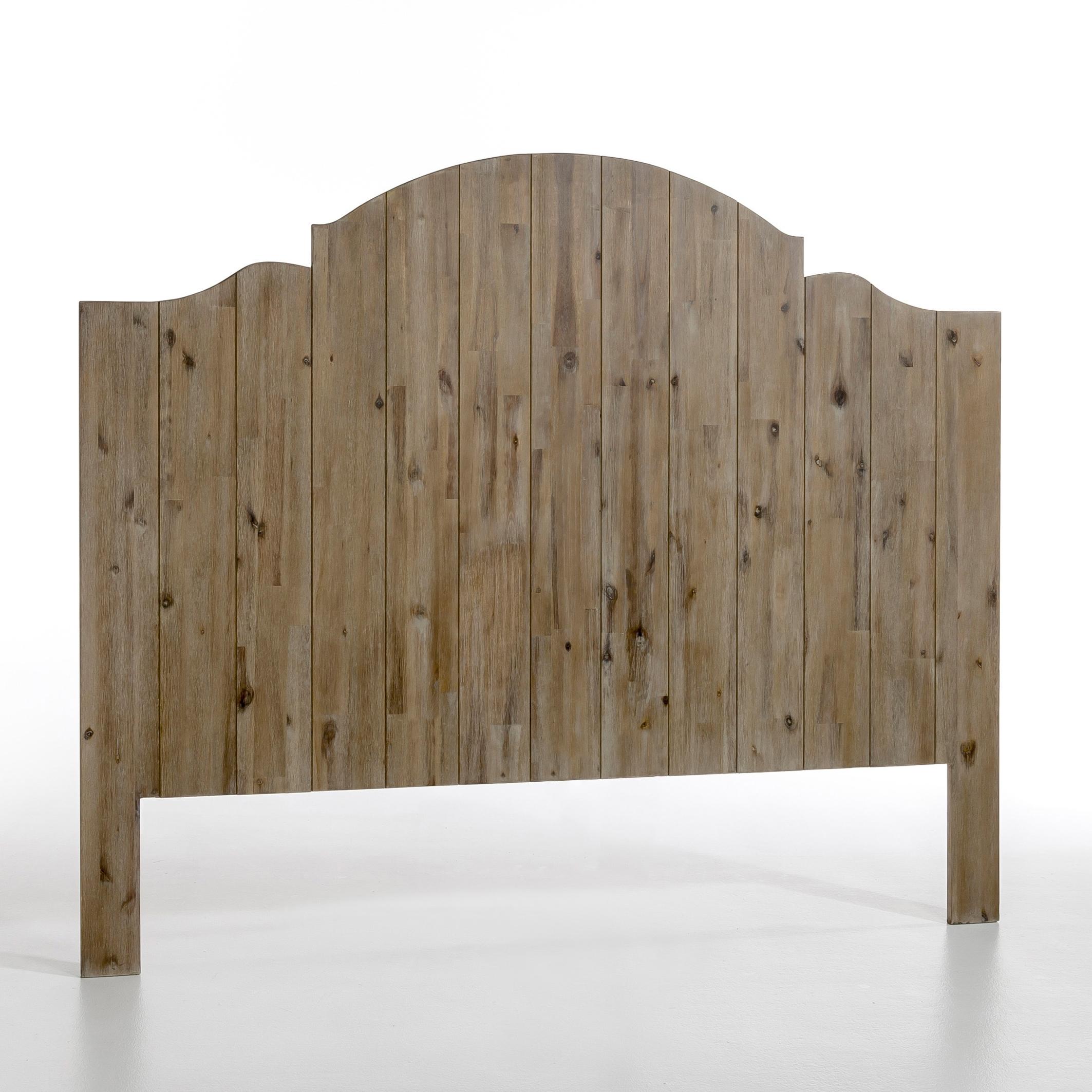 """Bild Kopfteil \""""Noto\"""", Akazie, H. 152 cm"""