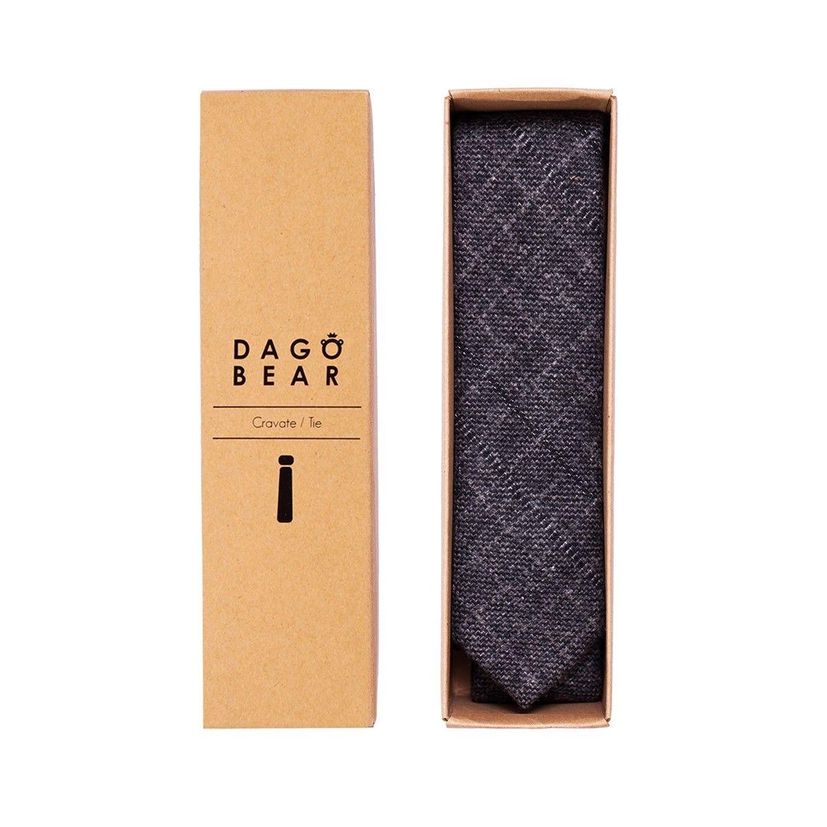 Cravates en laine grise