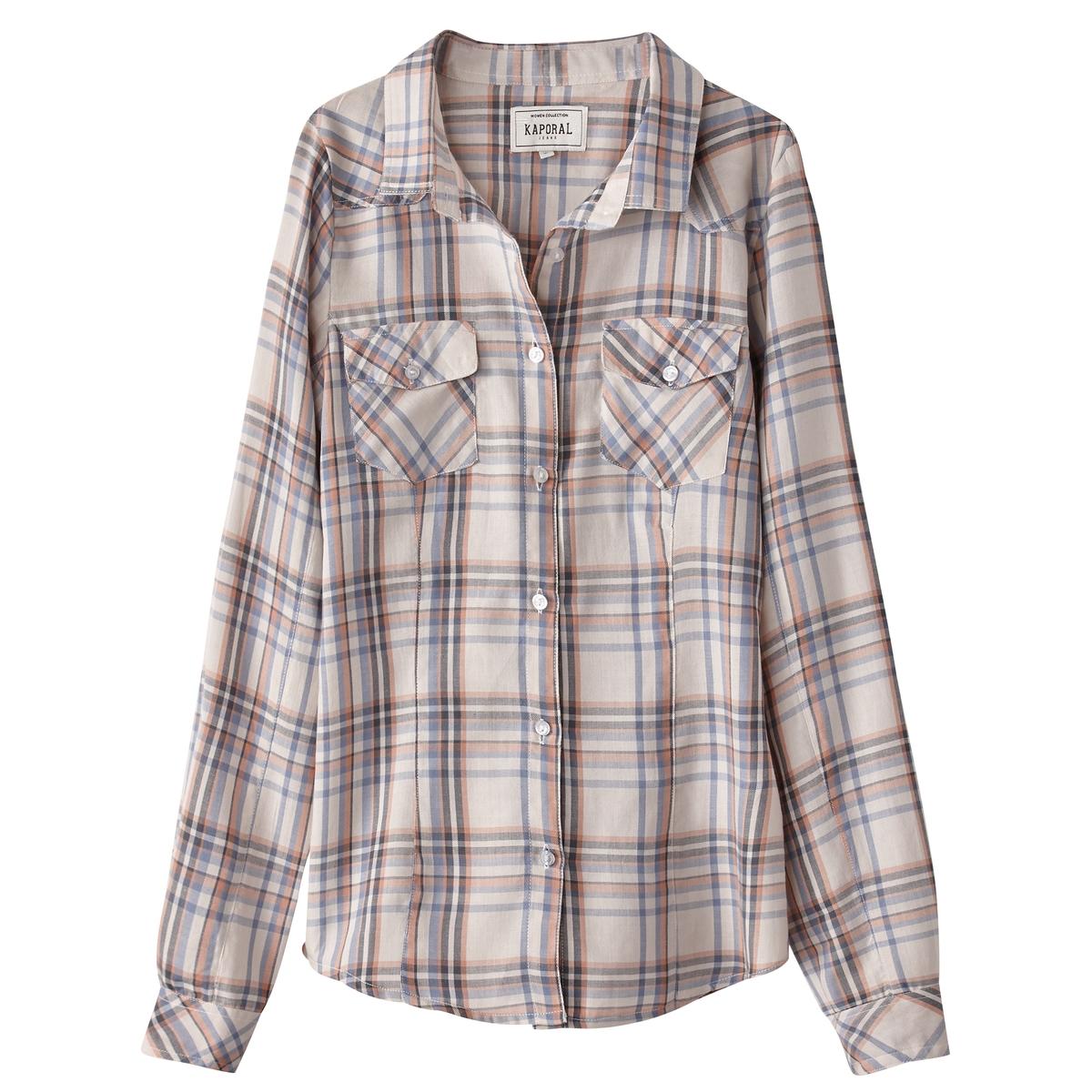 Camisa direita, algodão