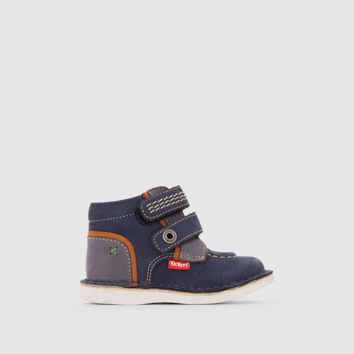 Ботинки с застежкой на планку-велкро WAPA