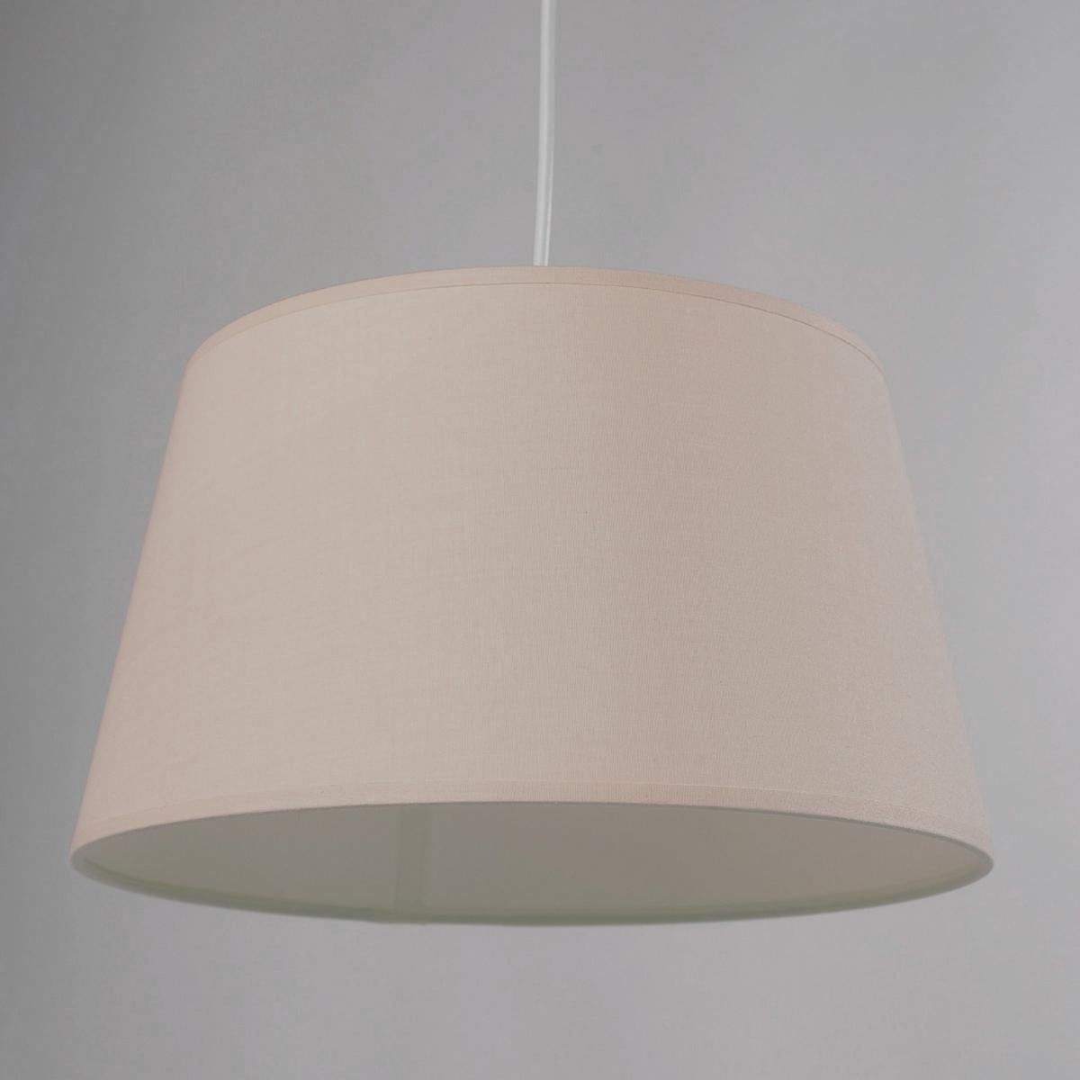 Светильник 100% хлопок, FalkeОписание светильника Falke   :Электрифицированный  Шнур питания входит в комплект (длина 55 см)  Патрон E27, лампочка макс. 60W (не входит в комплект)   Этот светильник совместим с лампочками энергетического класса : A-B-C-D-E Характеристики светильника Falke   :100% хлопок Всю коллекцию светильников вы можете найти на сайте laredoute.ru.   Размеры светильника Falke  :Размер 2  : Диаметр низа : 45 смДиаметр верха : 35 смВысота : 26 см<br><br>Цвет: серо-бежевый,серо-коричневый