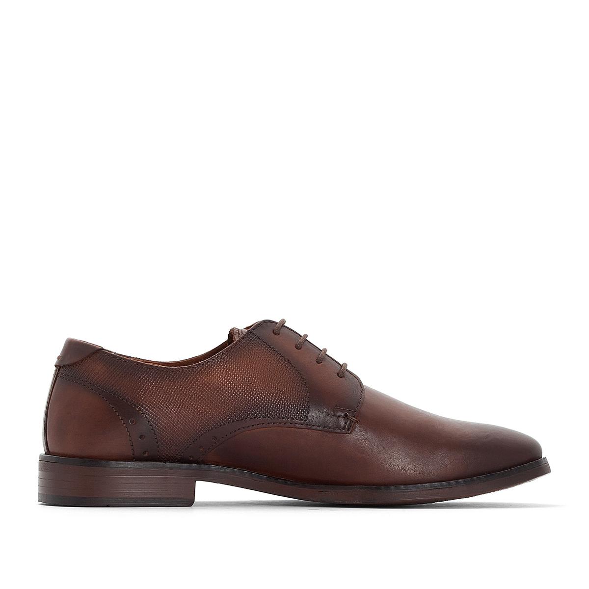 Ботинки-дерби кожаные ZALMA ботинки дерби кожаные