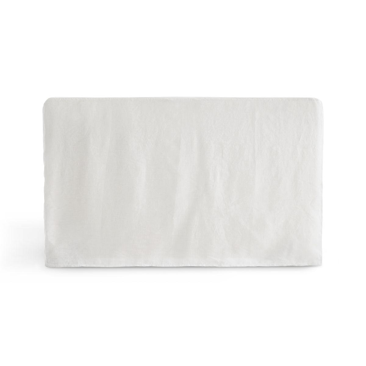 Housse pour tête de lit en lin lavé ABELLA