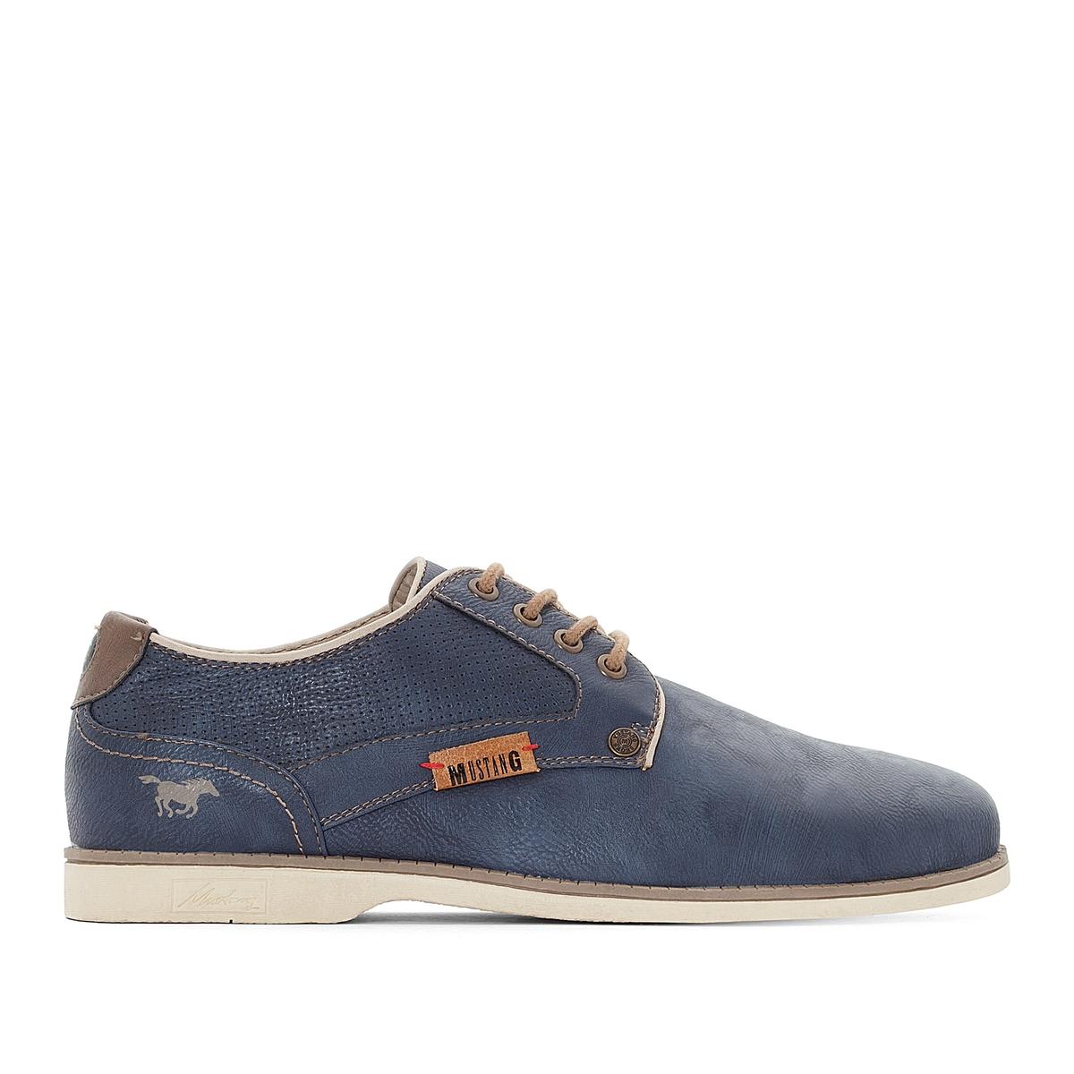 Ботинки-дерби на шнуровке ботинки дерби под кожу питона