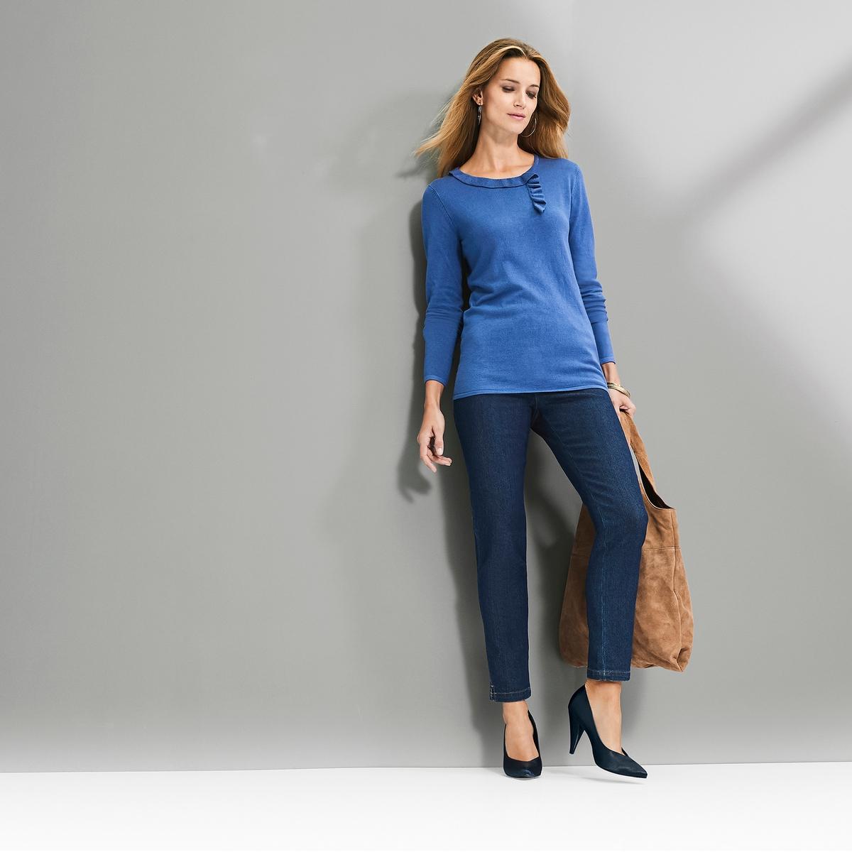 Imagen secundaria de producto de Vaqueros pitillo, cintura elástica - Anne weyburn