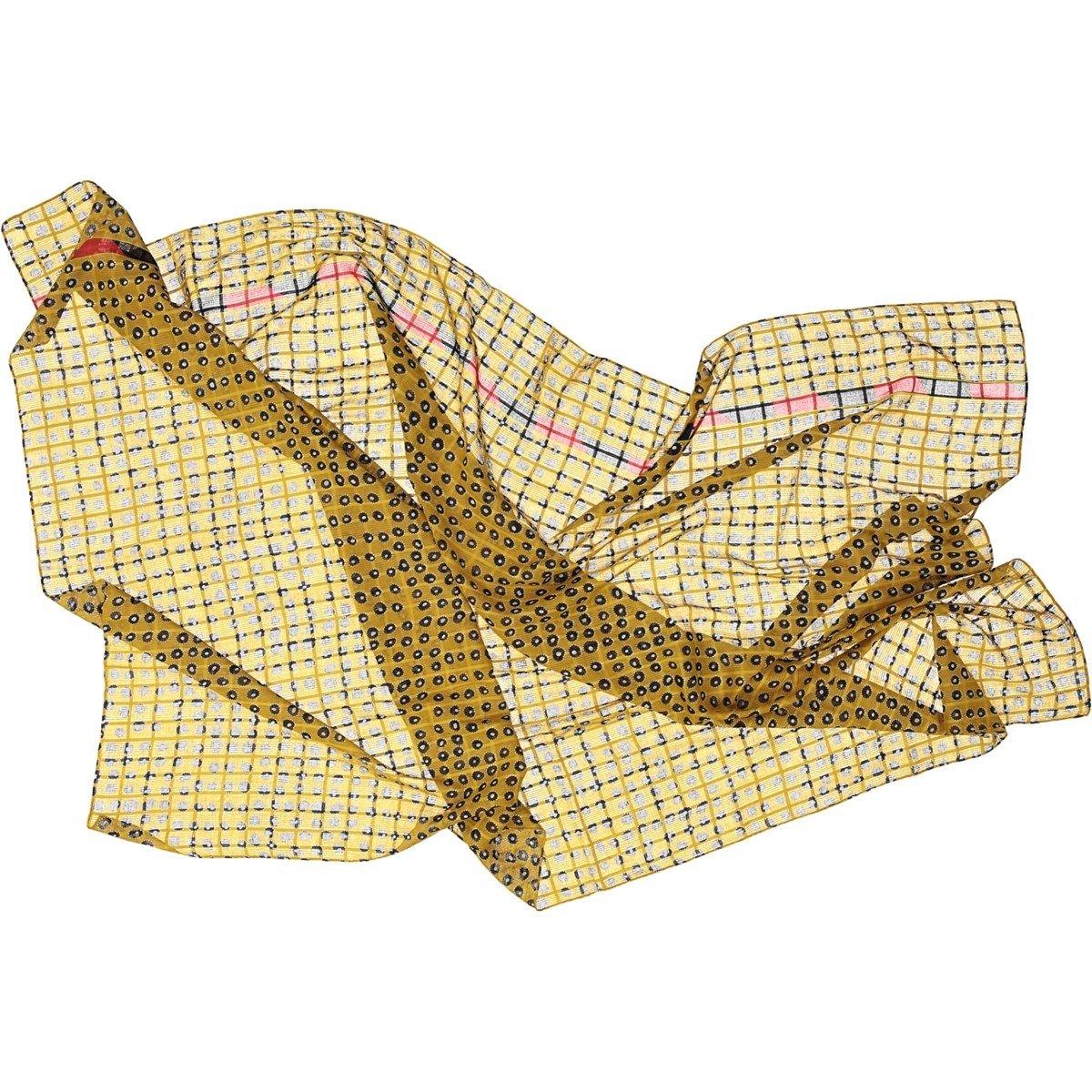 Foulard en coton dobby - DOTS FIELD