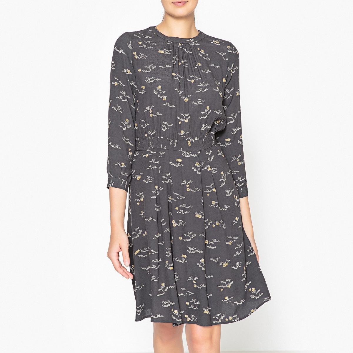 Платье с рисунком NINOU sessun рубашка с длинными рукавами