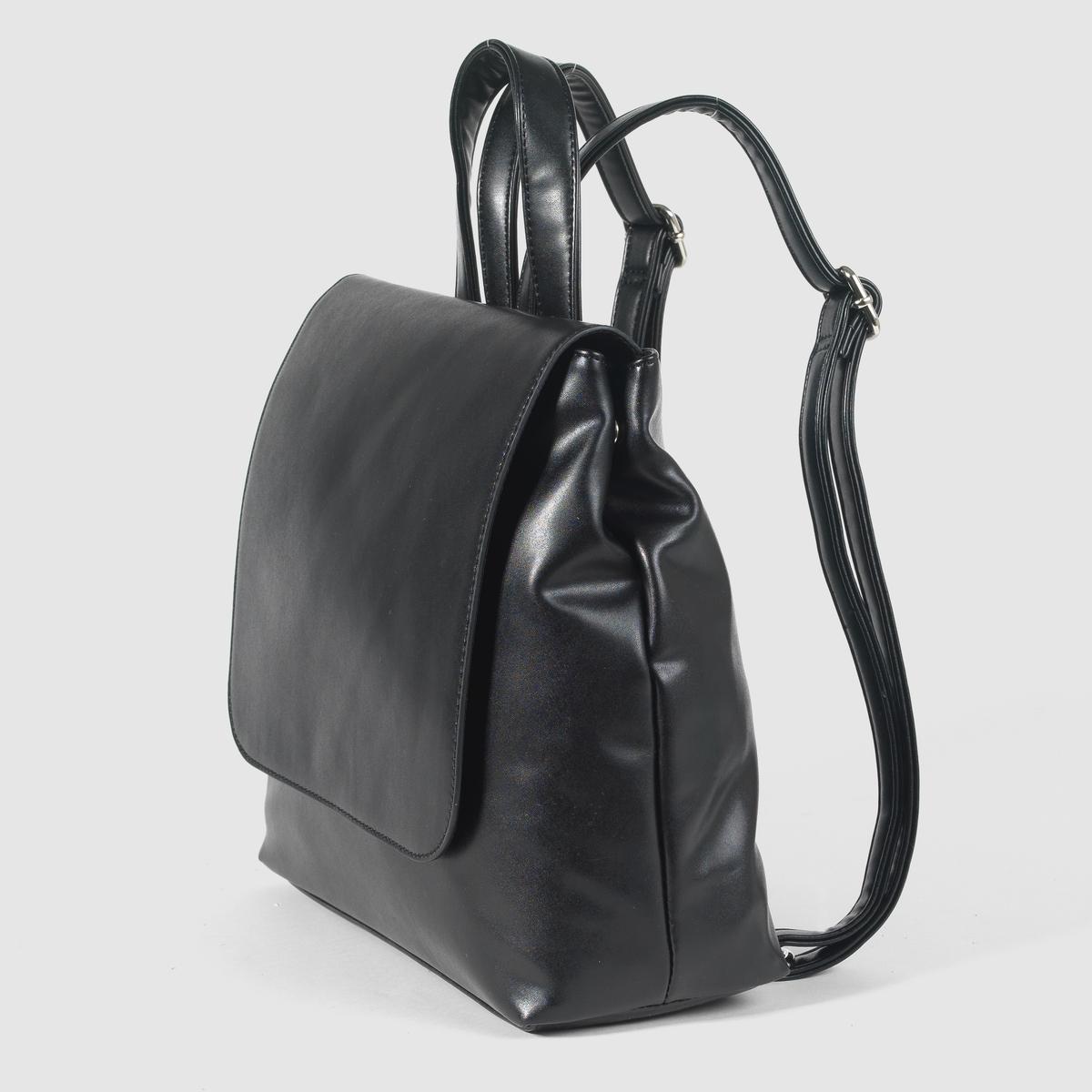 РюкзакПреимущества : очень практичный и красивый рюкзак на пике модных тенденций. Незаменим для  жизни в городе!<br><br>Цвет: черный