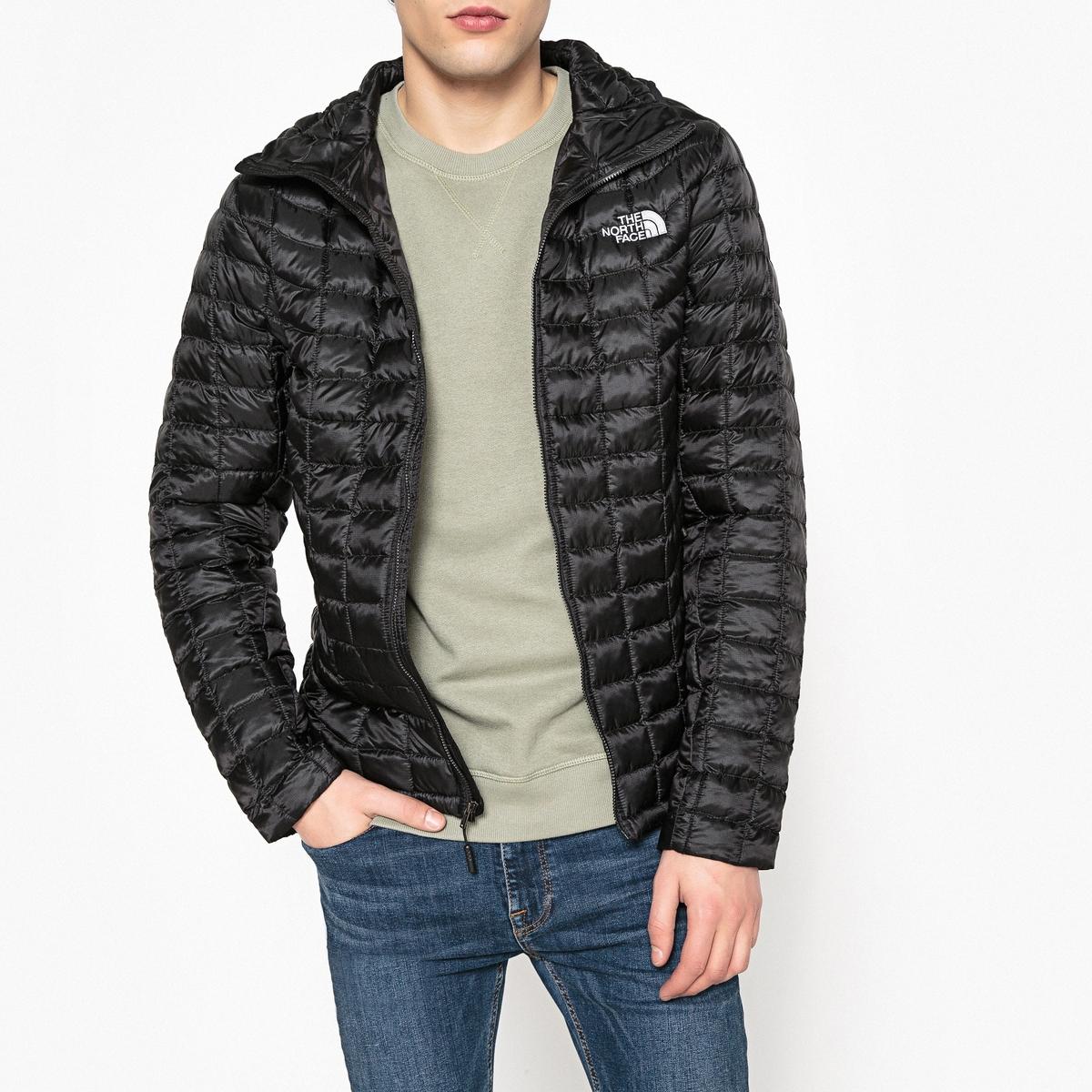 Куртка с капюшоном ThermoballДетали •  Длина : укороченная модель •  Капюшон  •  Застежка на молнию •  С капюшономСостав и уход •  100% полиамид •  Следуйте советам по уходу, указанным на этикетке<br><br>Цвет: черный<br>Размер: XL.M.L