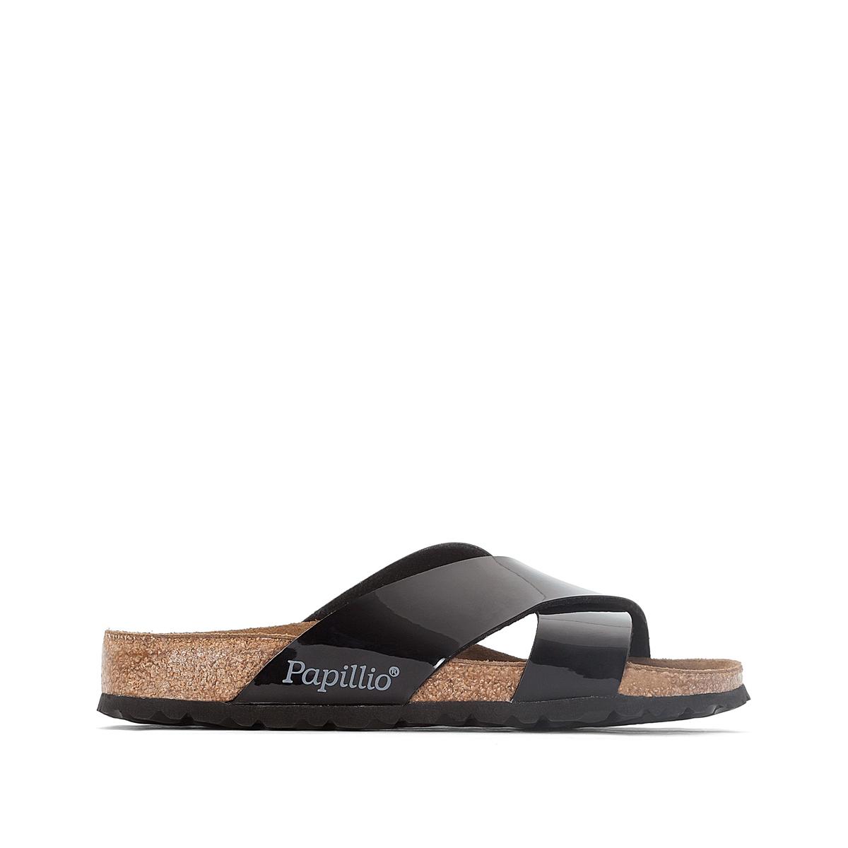 Туфли без задника лакированные DAYTONA