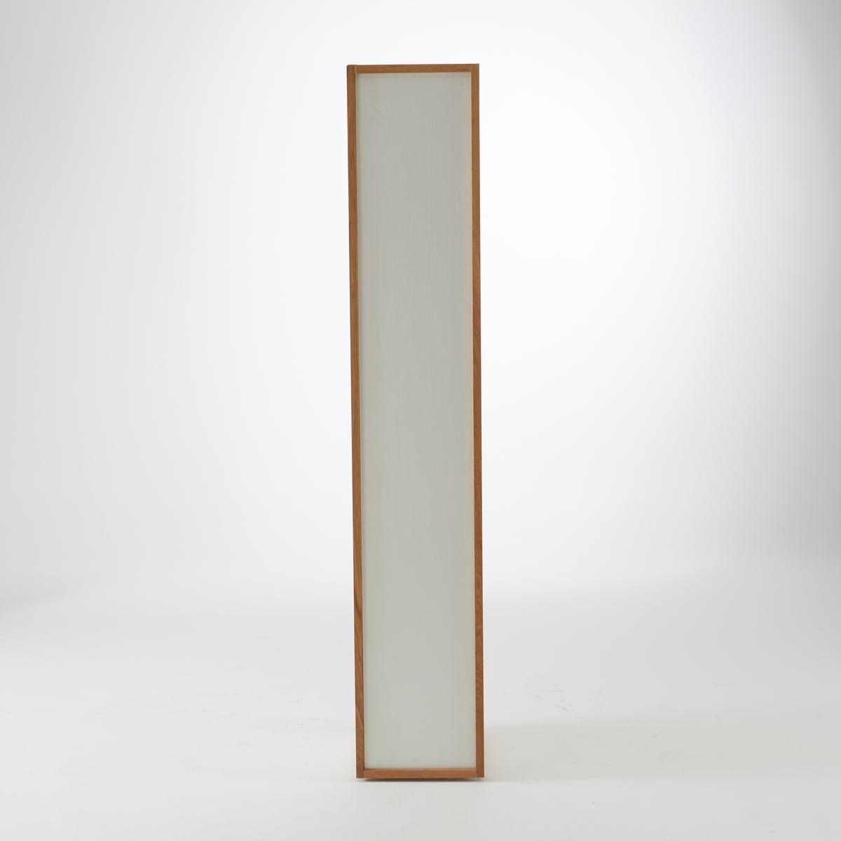 -дверный La Redoute Шкаф с полками из массива дуба Compo единый размер белый