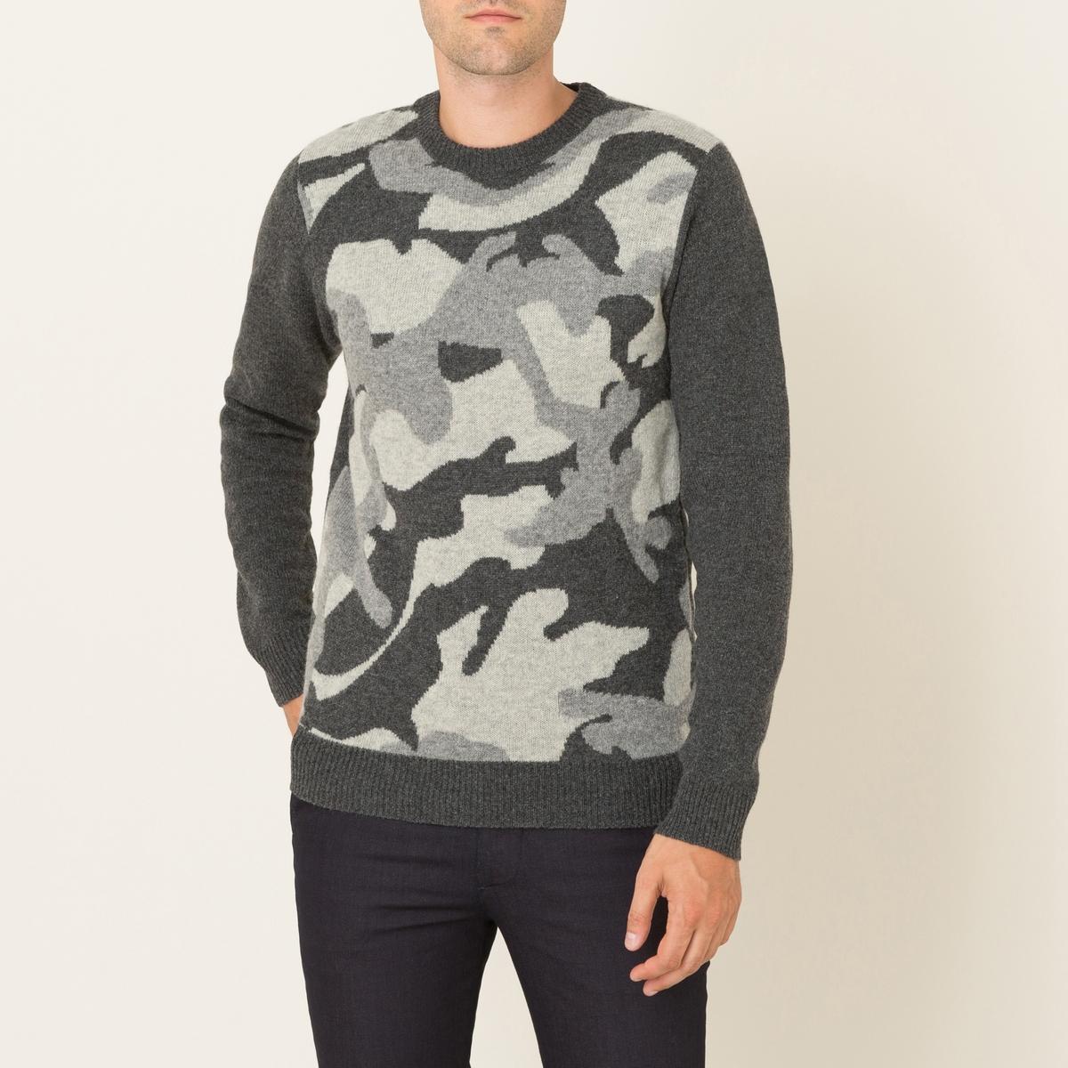 Пуловер жаккардовый от La Redoute