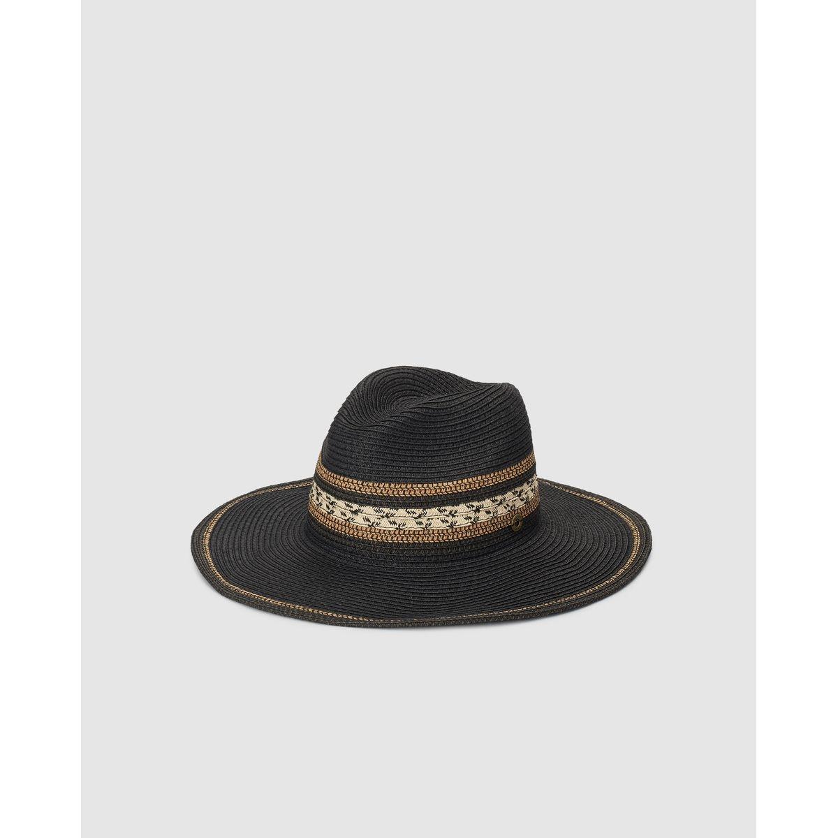 Chapeau Southern Cotton en papier avec ruban multicolore