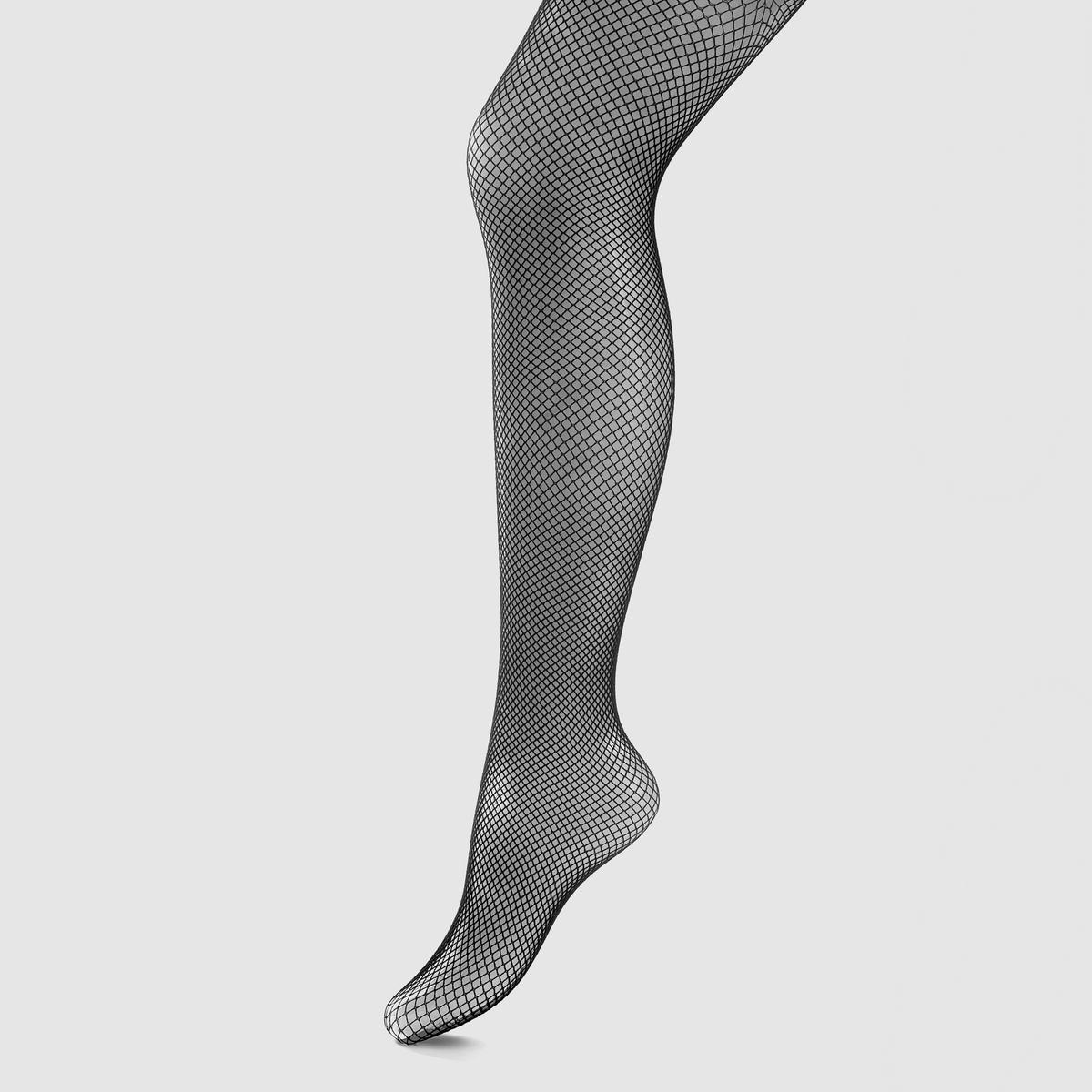 Колготки из сетки<br><br>Цвет: черный